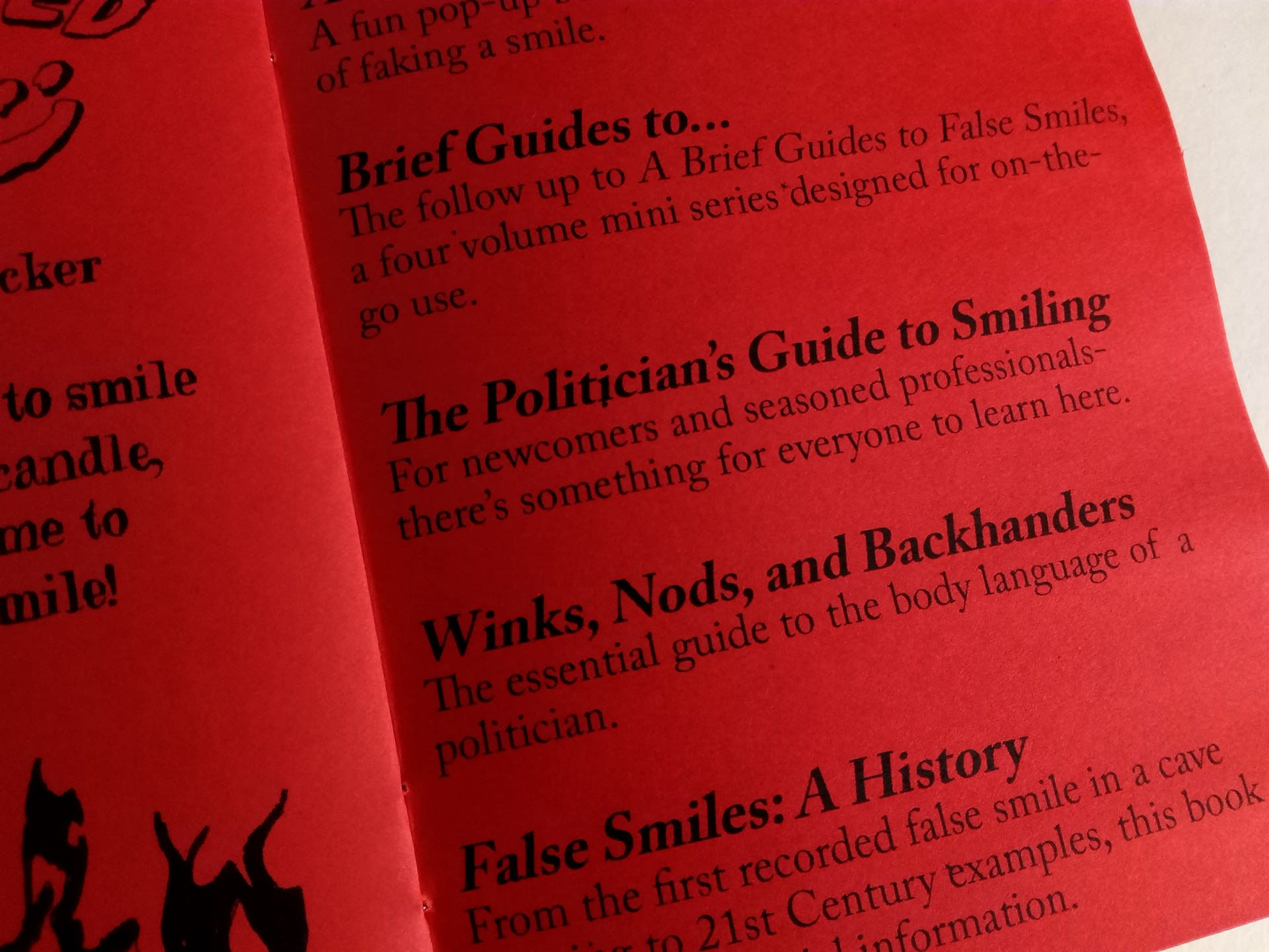 Free catalogue (detail)