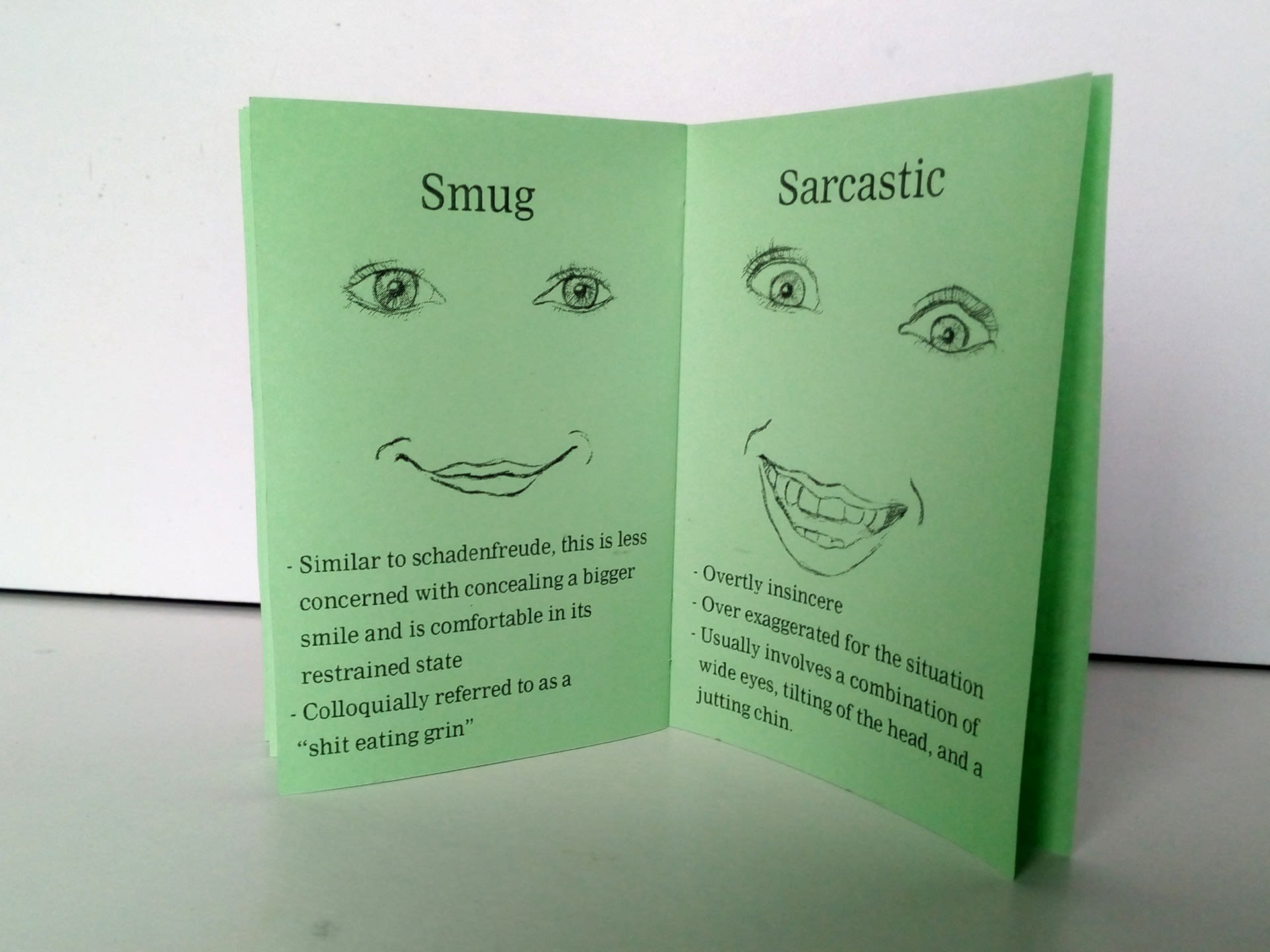 Smiles: A Brief Reference Guide (detail)