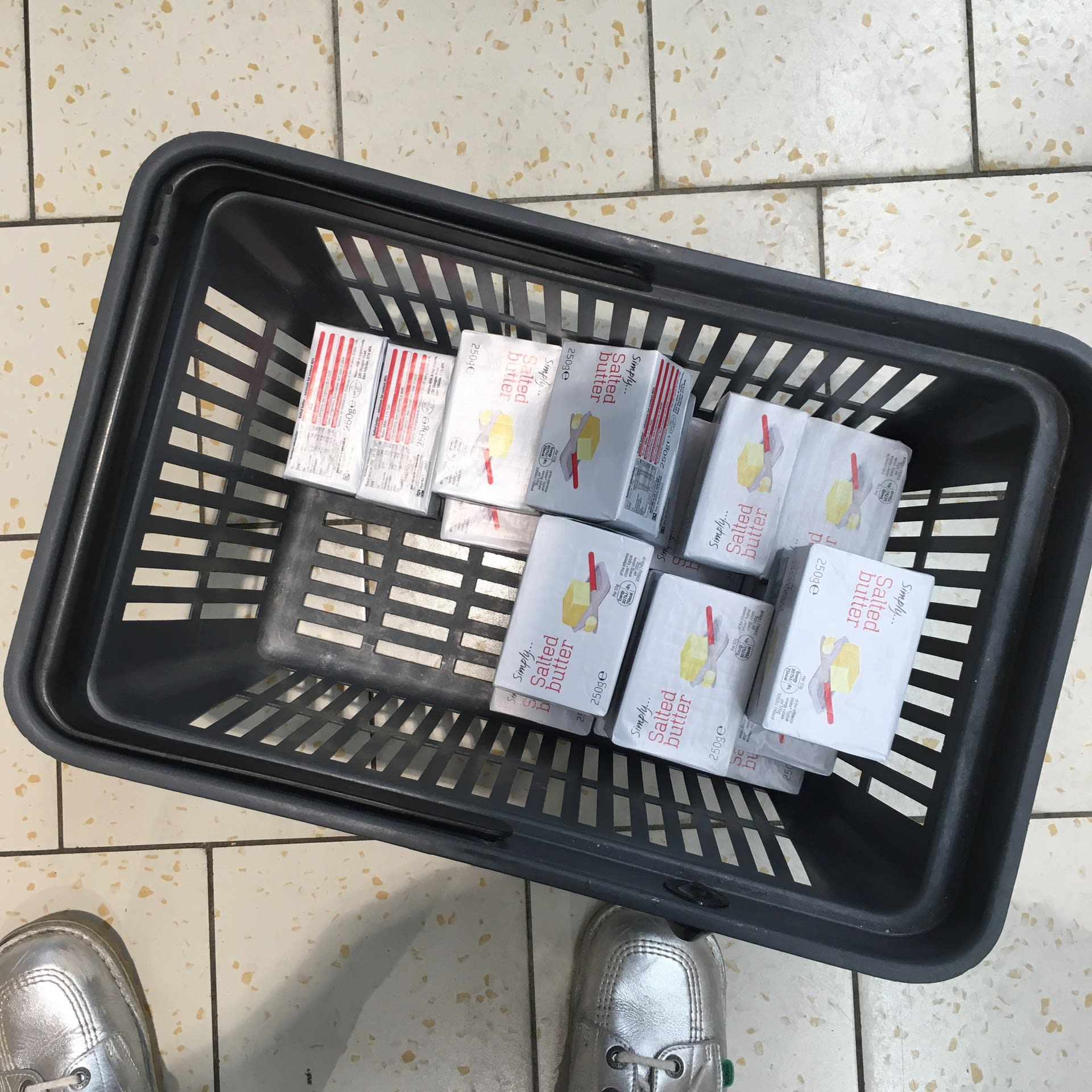 Butter in Basket, Photograph, 2019