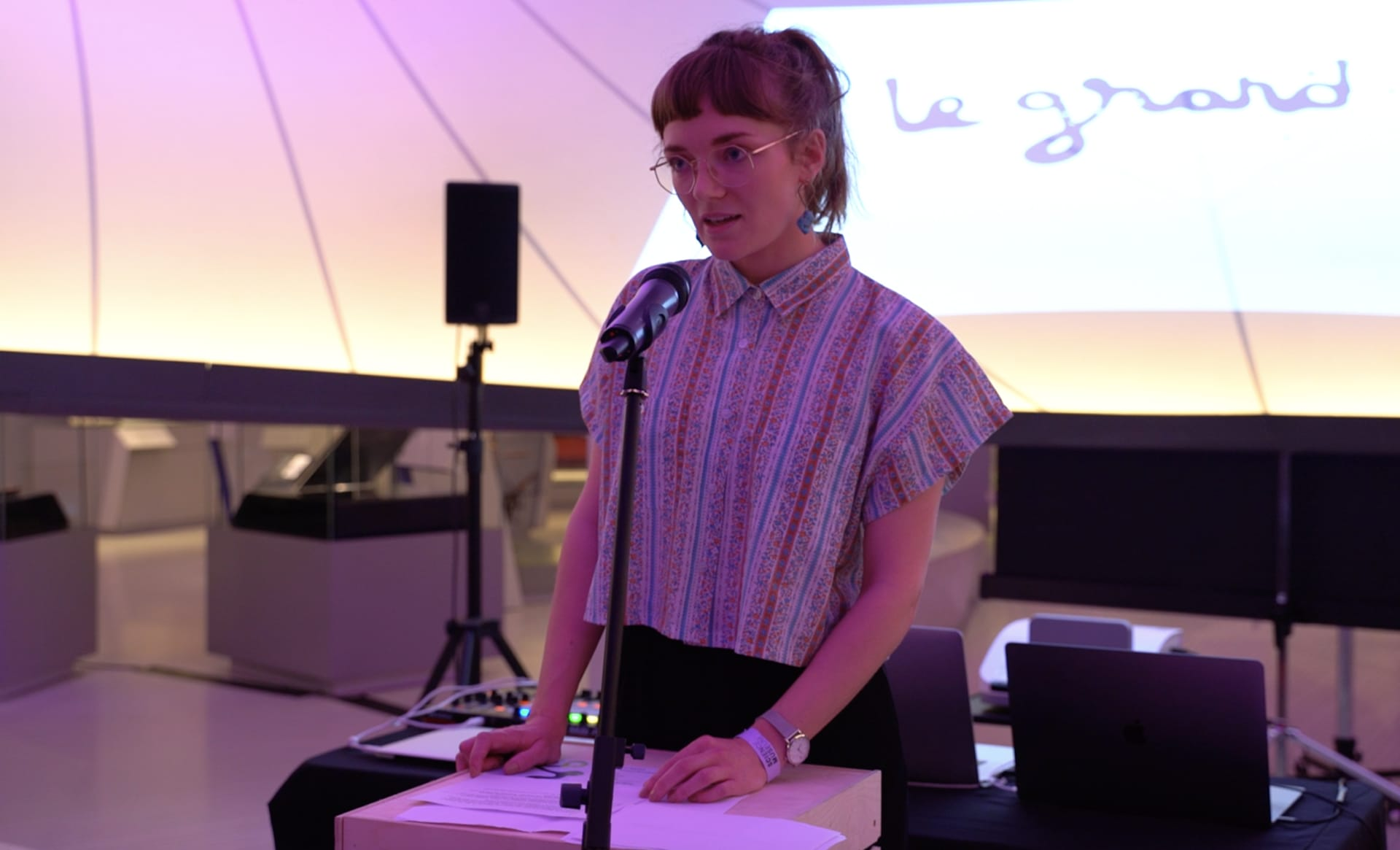 Performance at the Science Museum