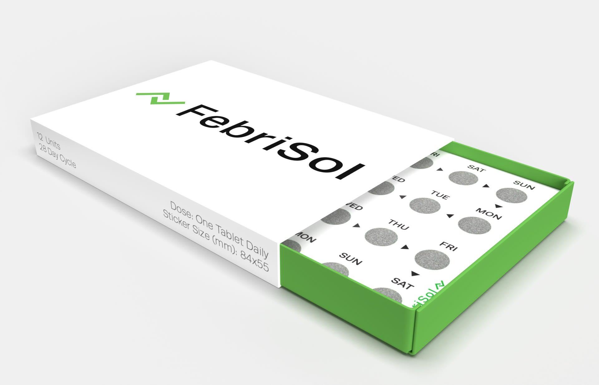 Commercial Packaging for FebriSol
