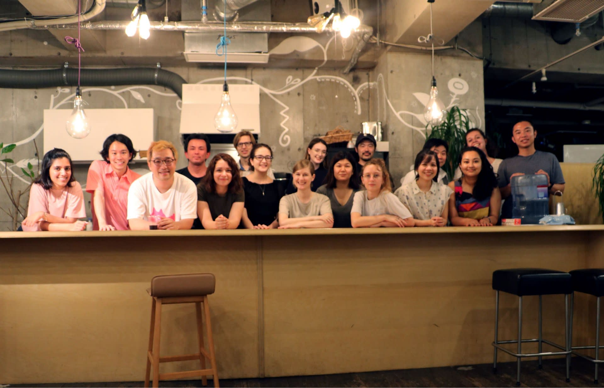 Group Photo from Food Potluck Workshop