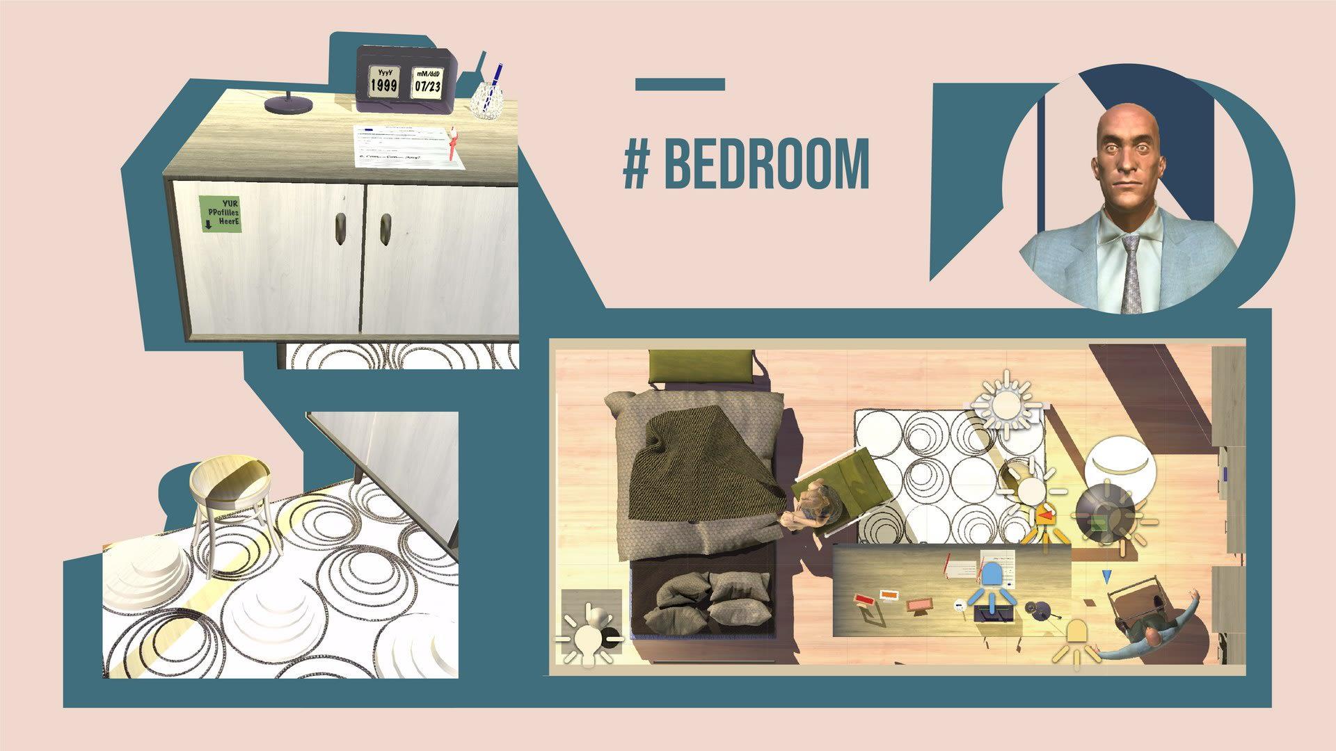 SIMULATION SCENARIO: BEDROOM