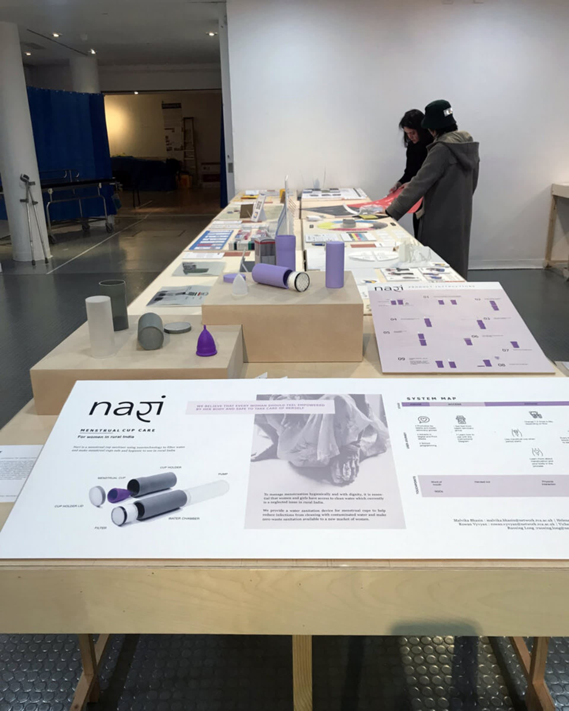 The Grand Challenge Exhibit at the Royal College of Art