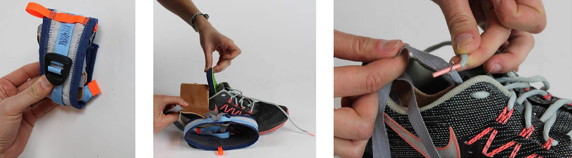 an easy sneaker add-on