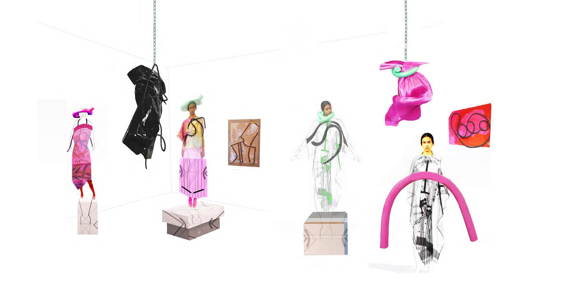 Art Darlings set design