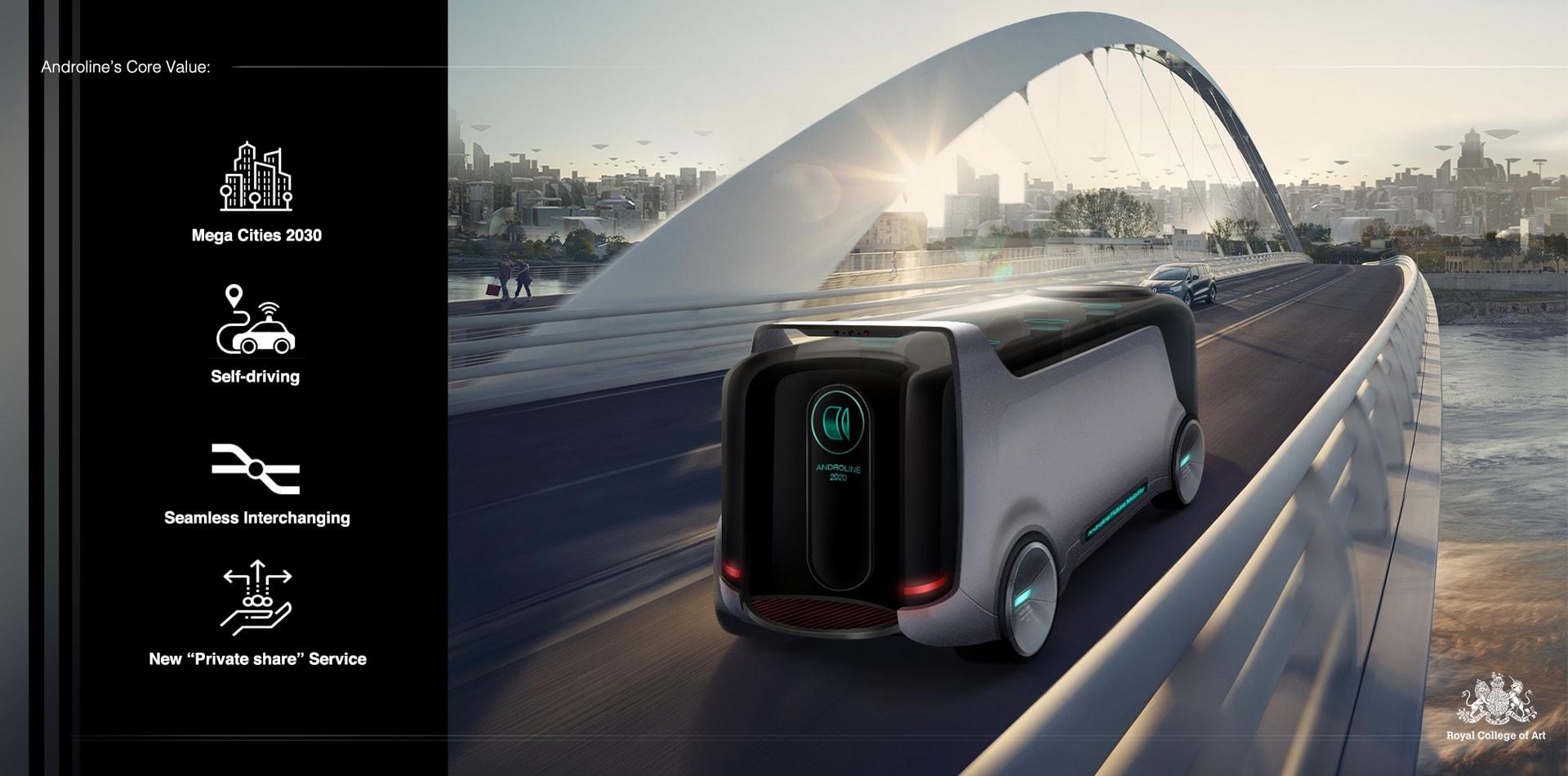 10.Androline - Future mini bus