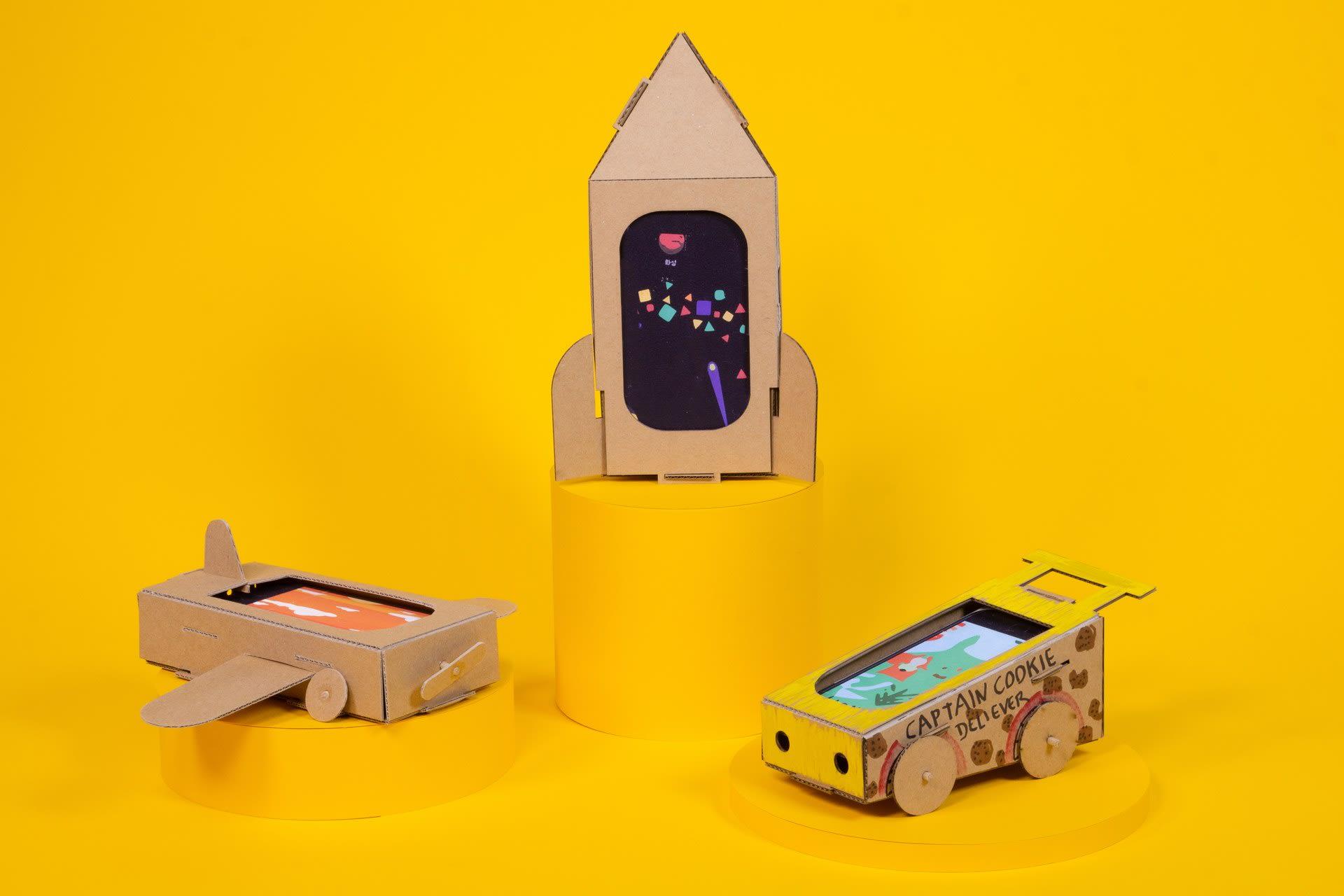 The car, the spaceship, the plane