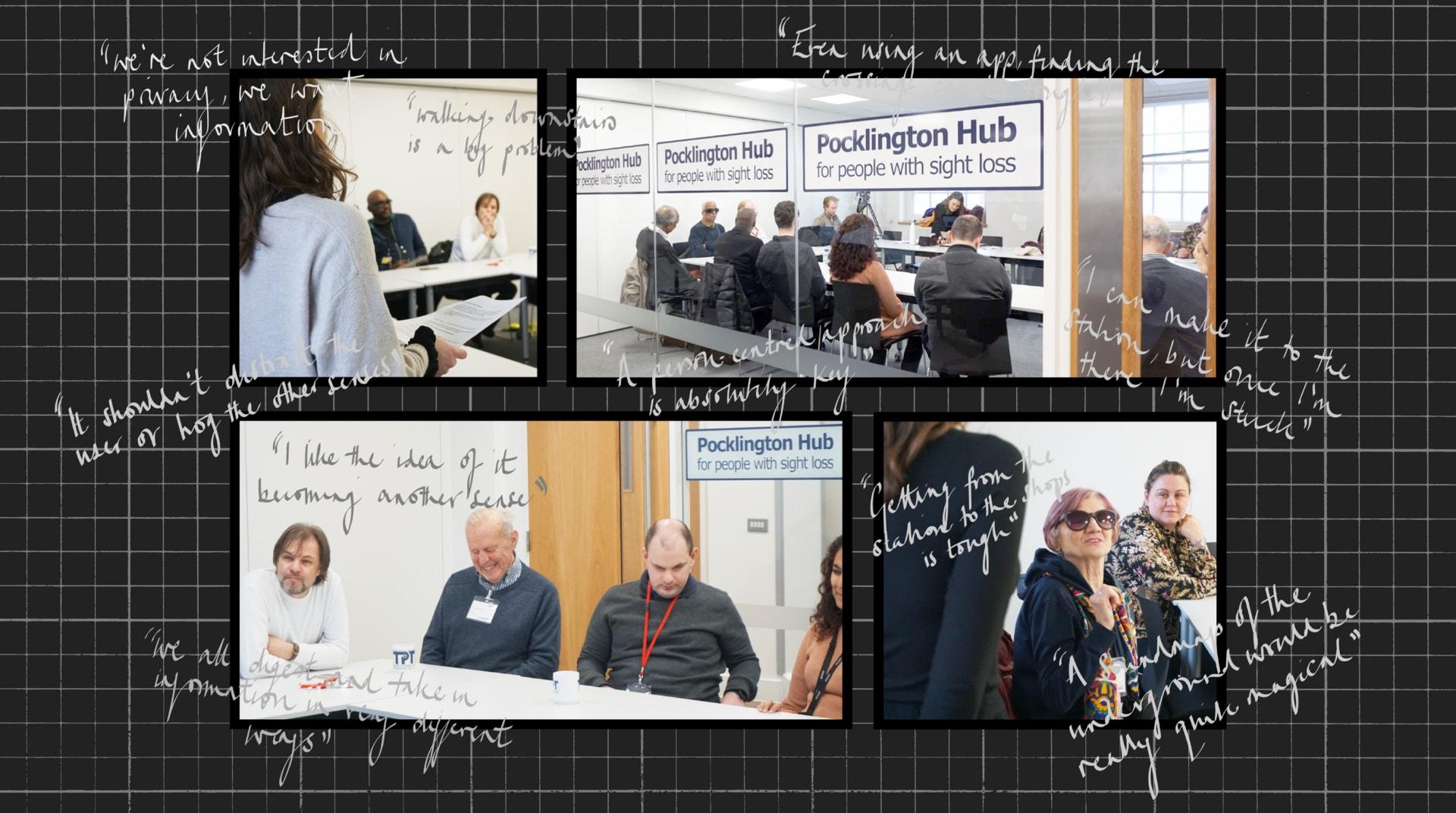Thomas Pocklington Focus Group Photos and Feedback