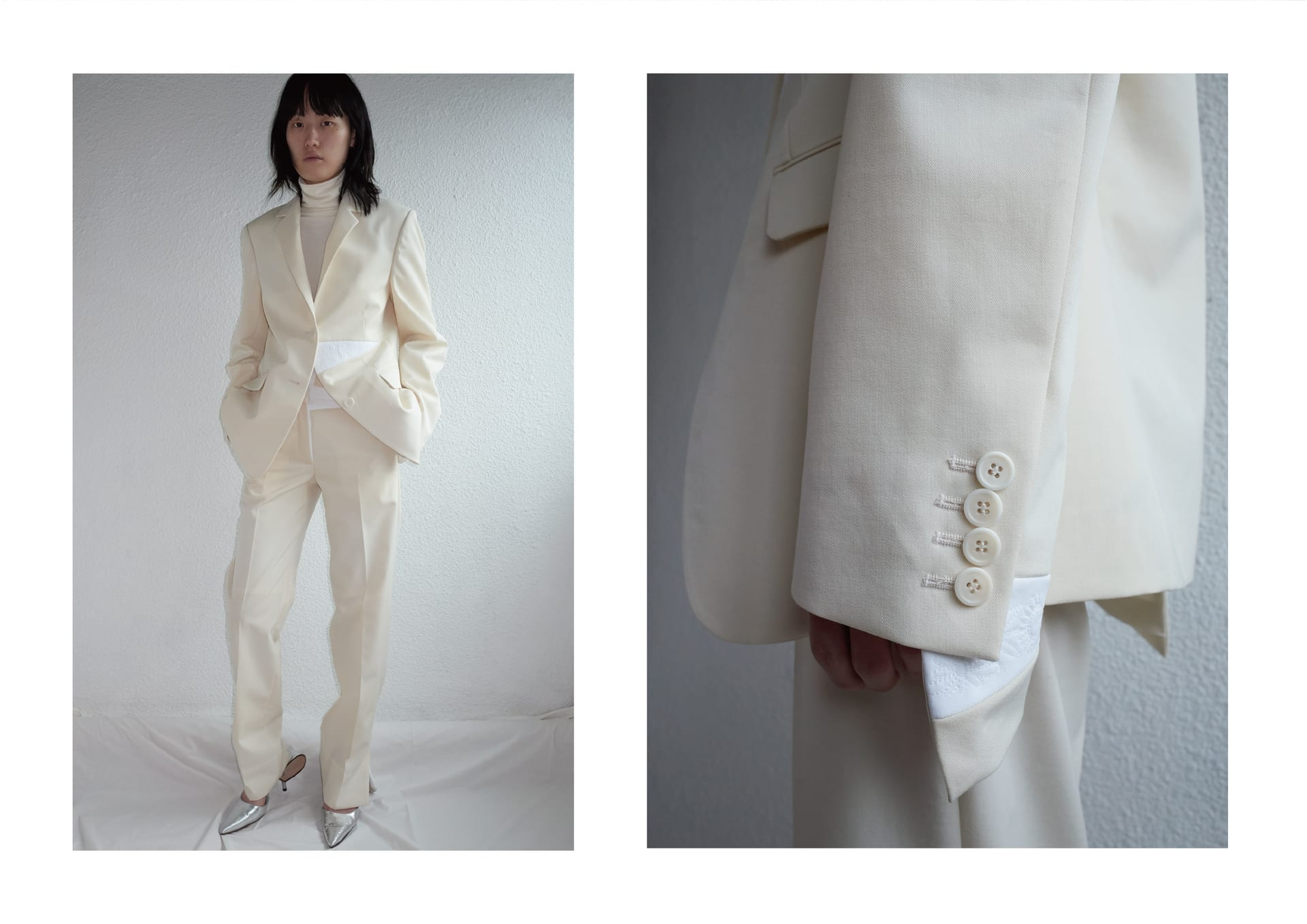 Look 01. Triangle Suit