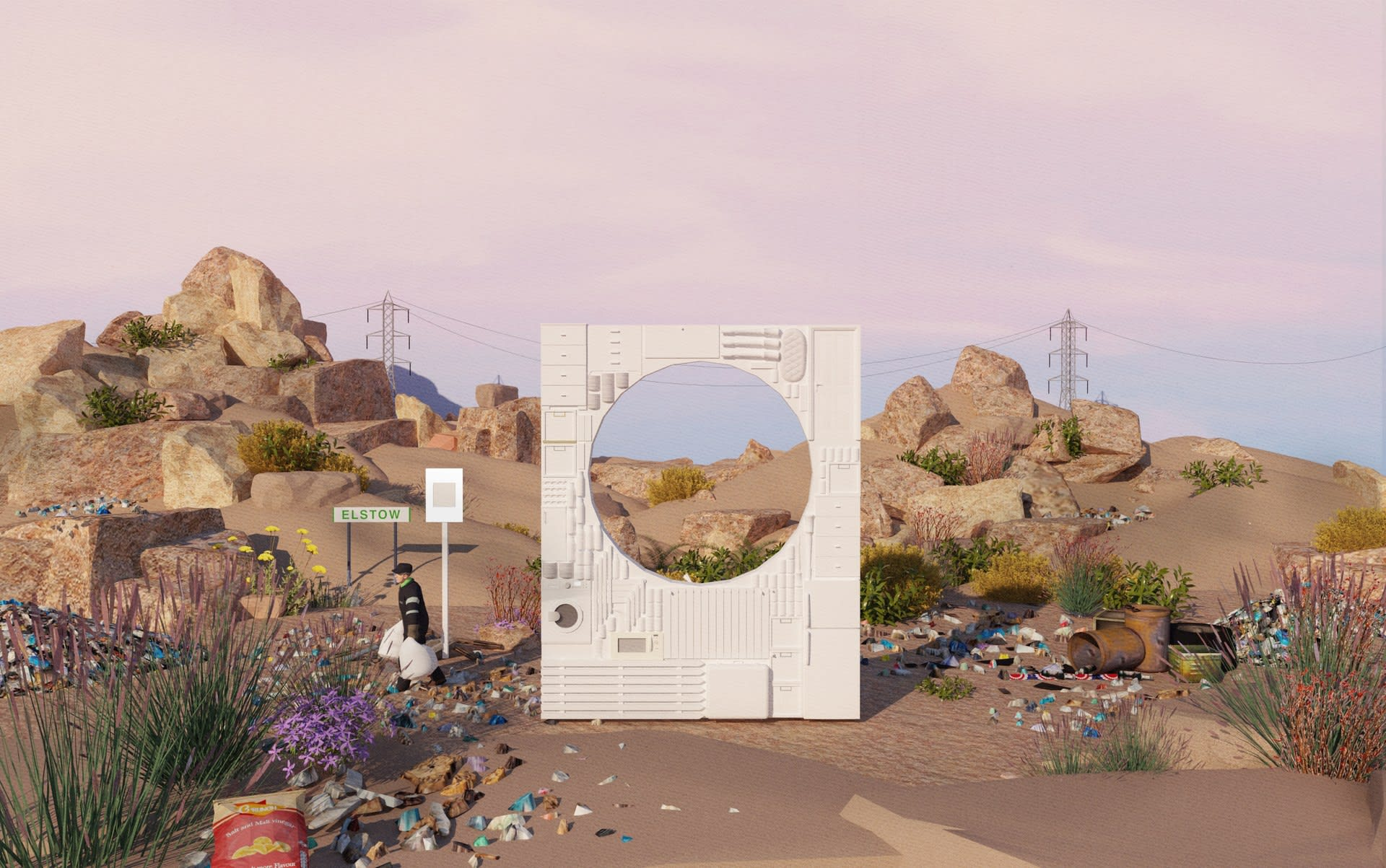 Re-imagining the Landfill; A scenario for a third transformation of the site