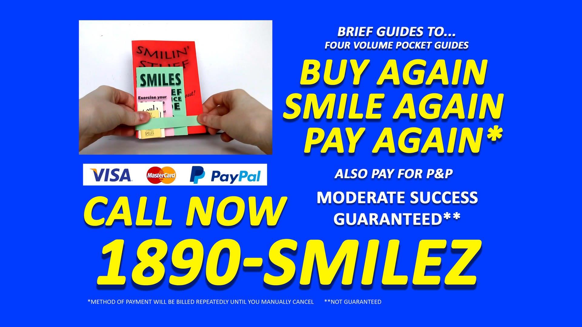 Buy Again, Smile Again, Pay Again (still)