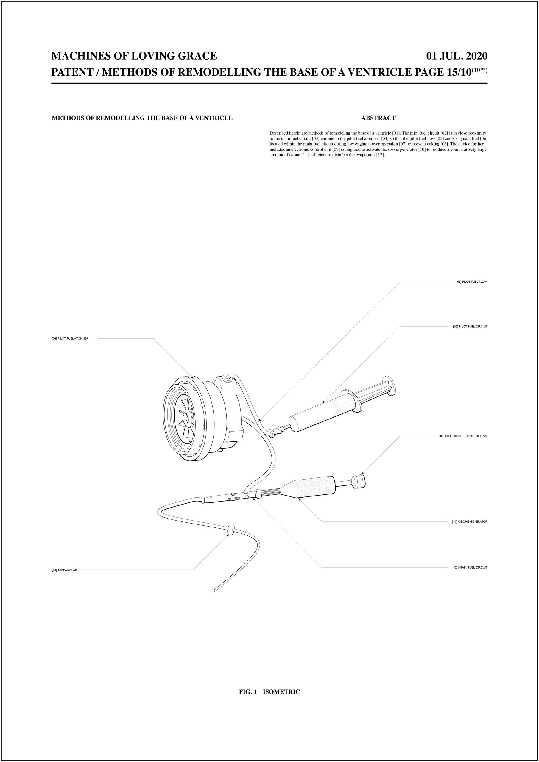 A Patent Illustration for a Non-Existent Invention