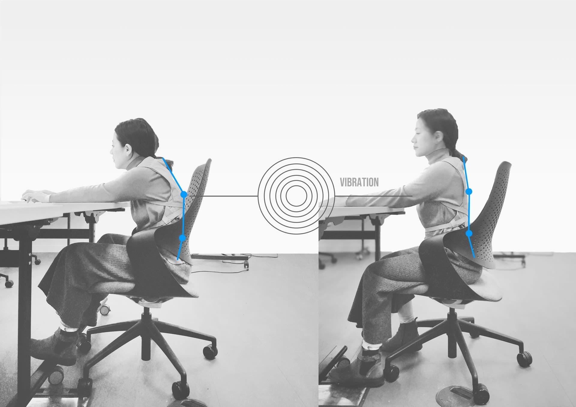 Low back pain posture monitoring
