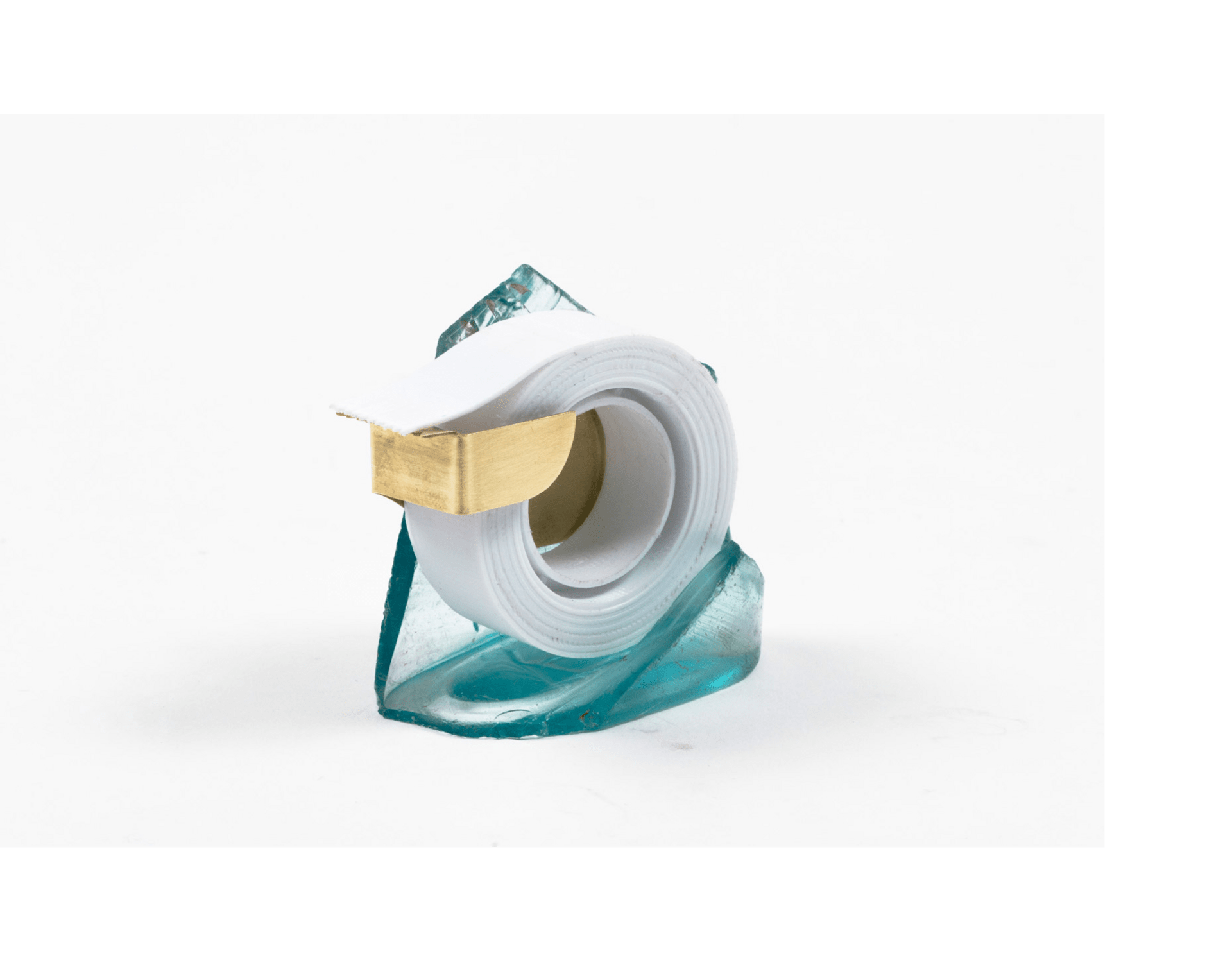 Tape dispenser from gin bottle
