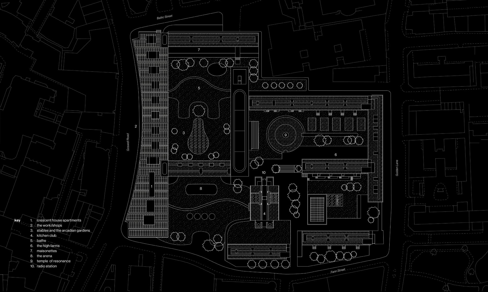 Arcadia: Citadel Plan - Digital drawing