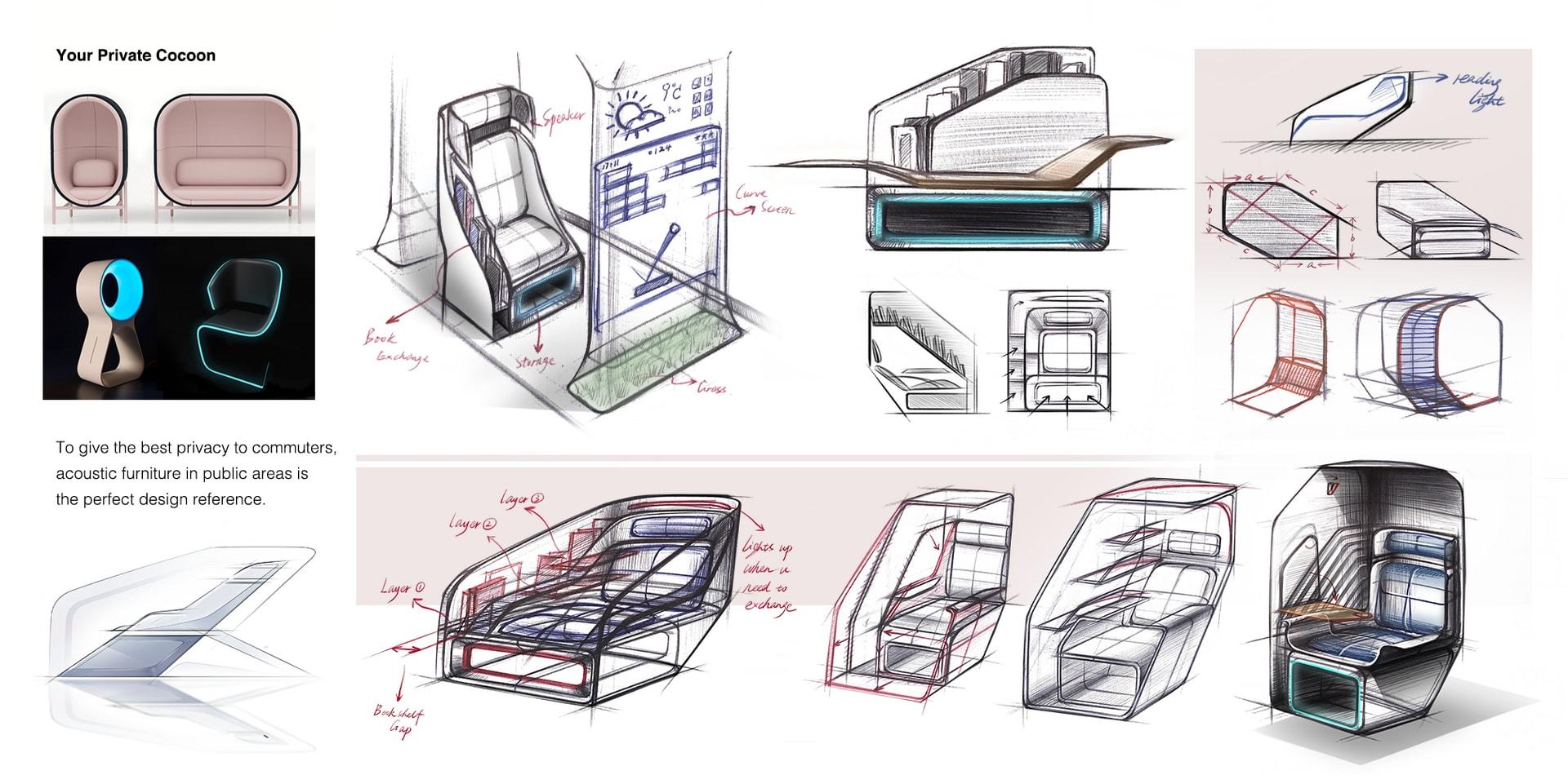 11.Interior sketch