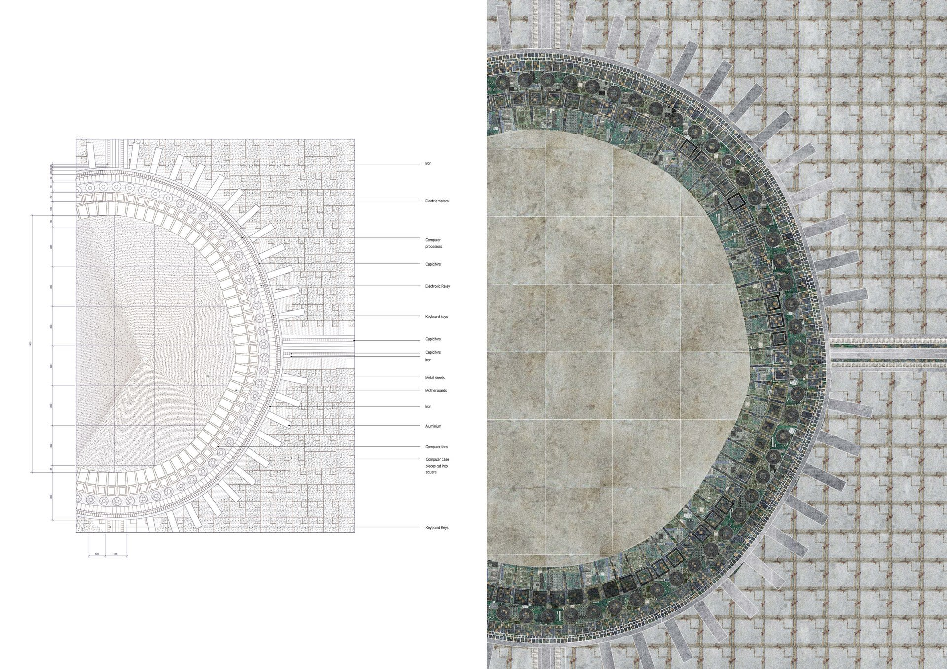 Plinth - Material detail