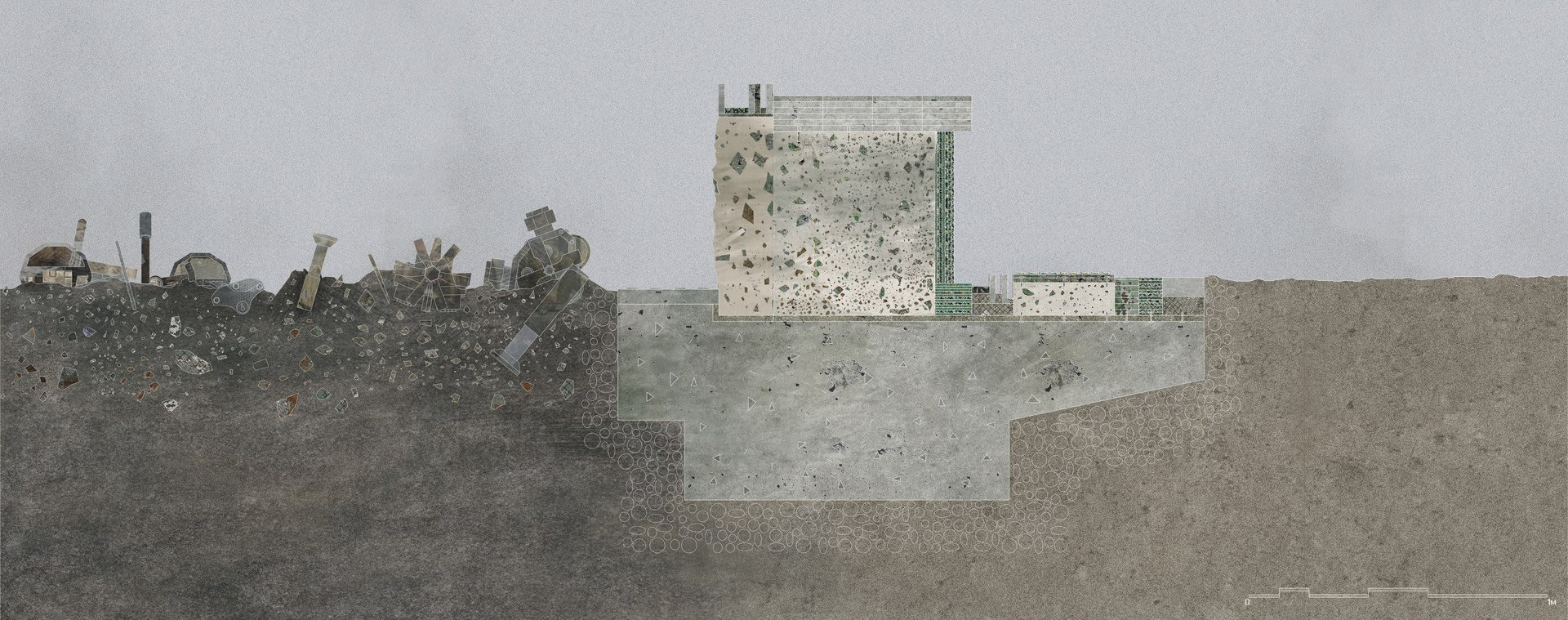 Frame Plinth Section