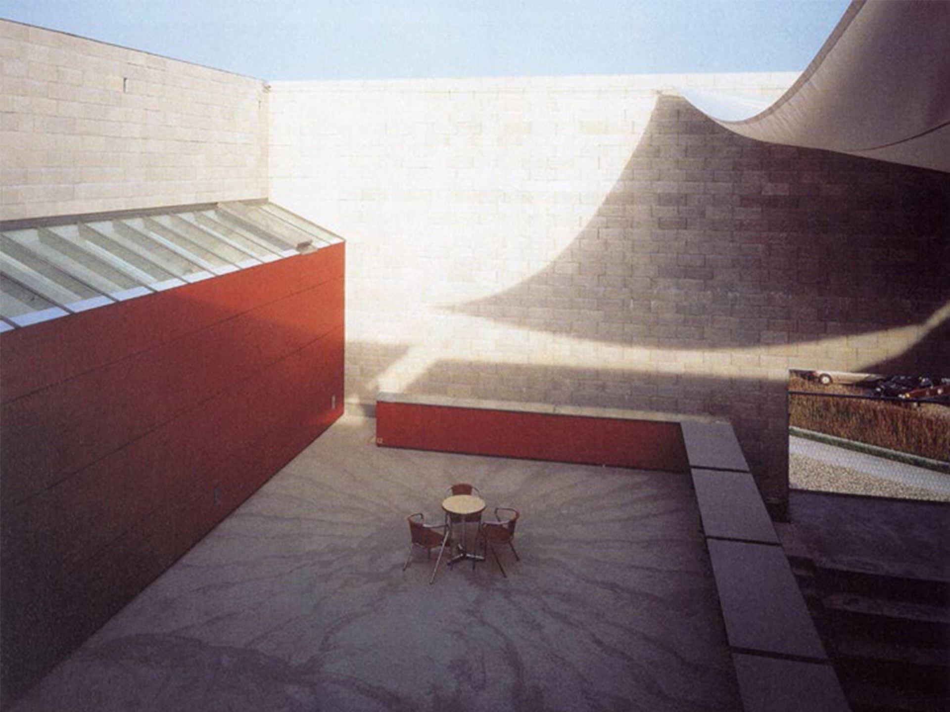 Atlas | Courtyard Space by Ortner und Ortner