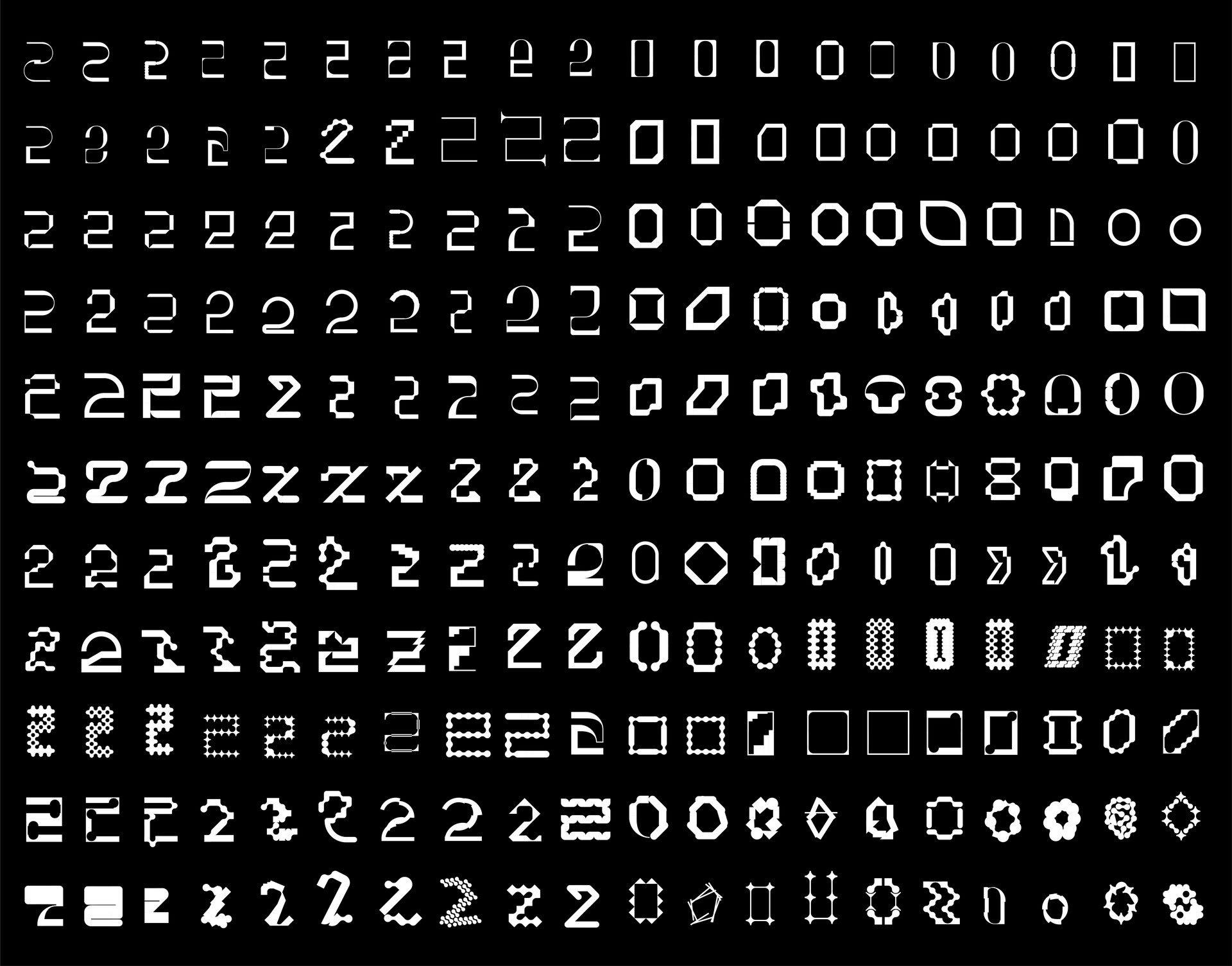 Glyphs – Vectorized