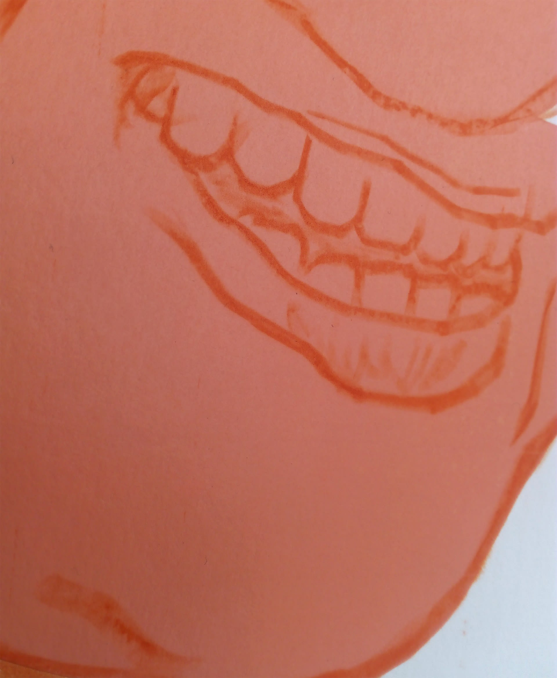 Layers of a Smile (detail)