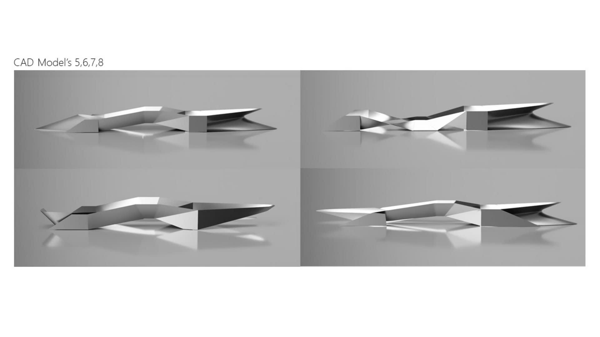 Cad Model's 5,6,7,8