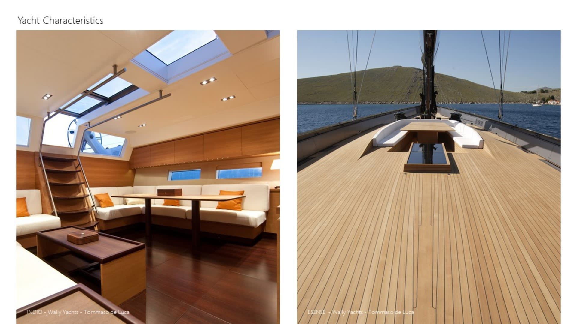 Yacht Inspired Interior