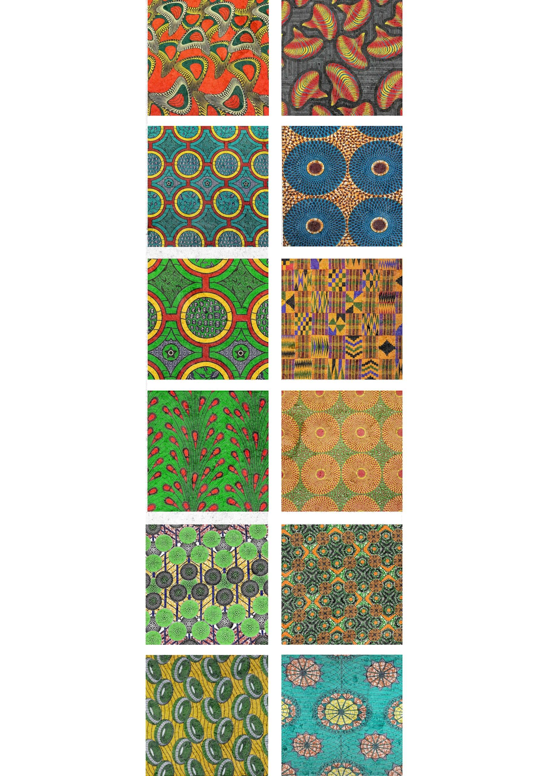 Kente - African cloth designs