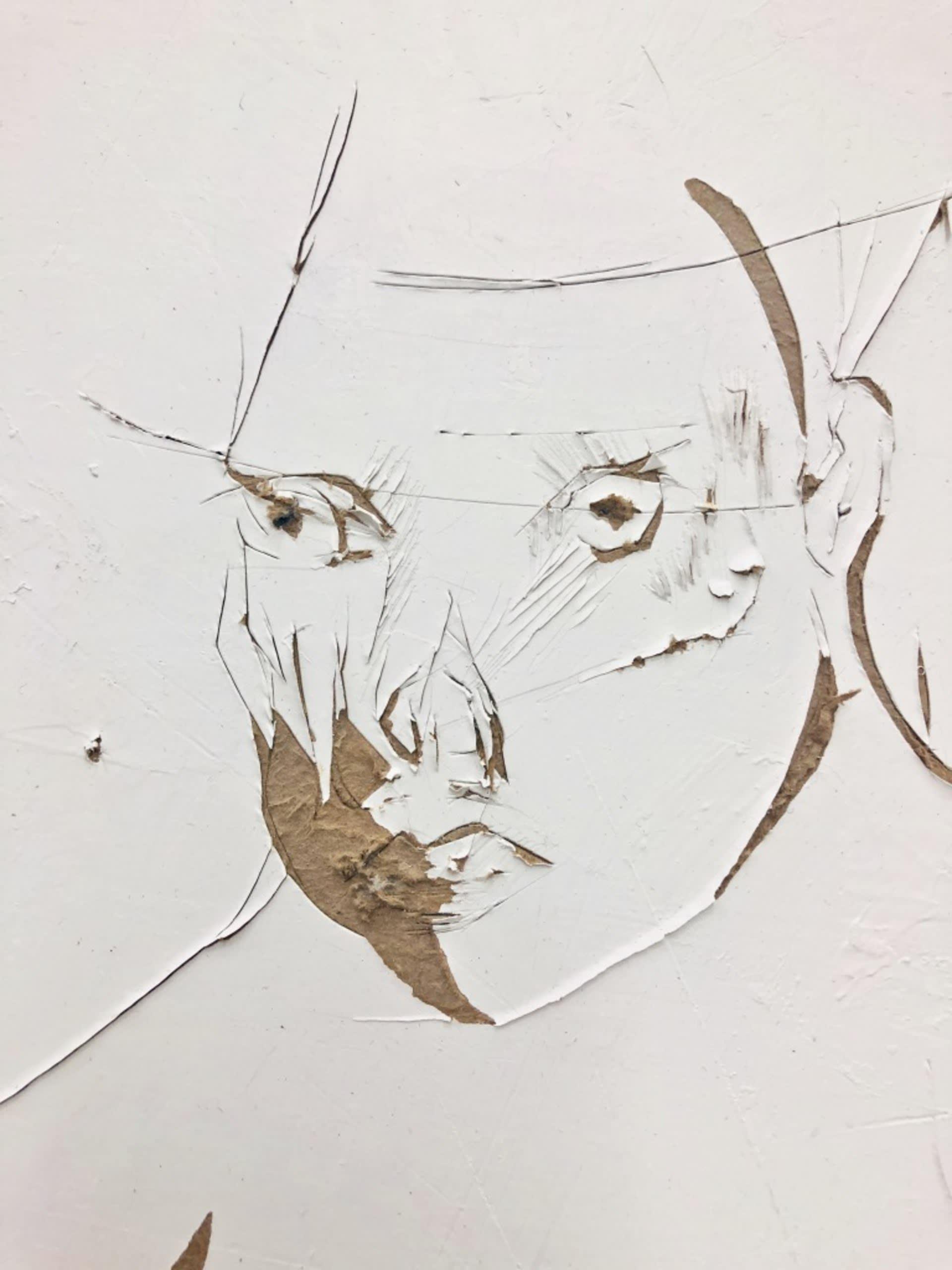 Detail of 'The Leperd'