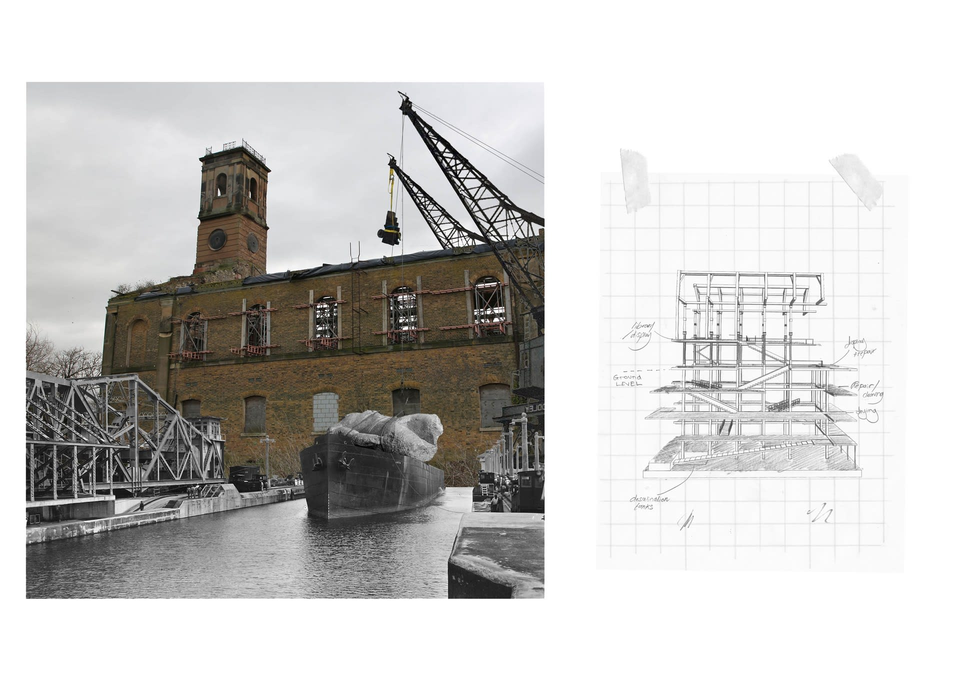 Designing the Thames Ship Lab (Sketchbook Excerpts)