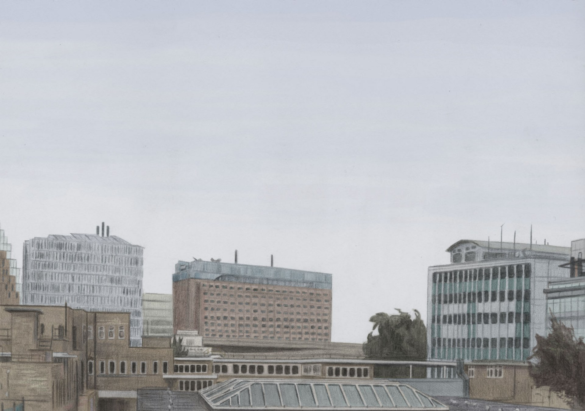 Buildings at White City