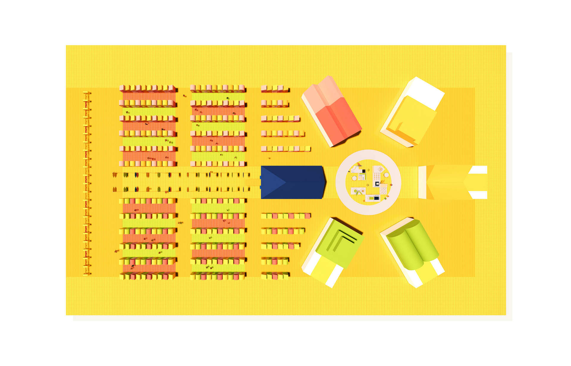 The Board - Supermarket of 2030 Layout
