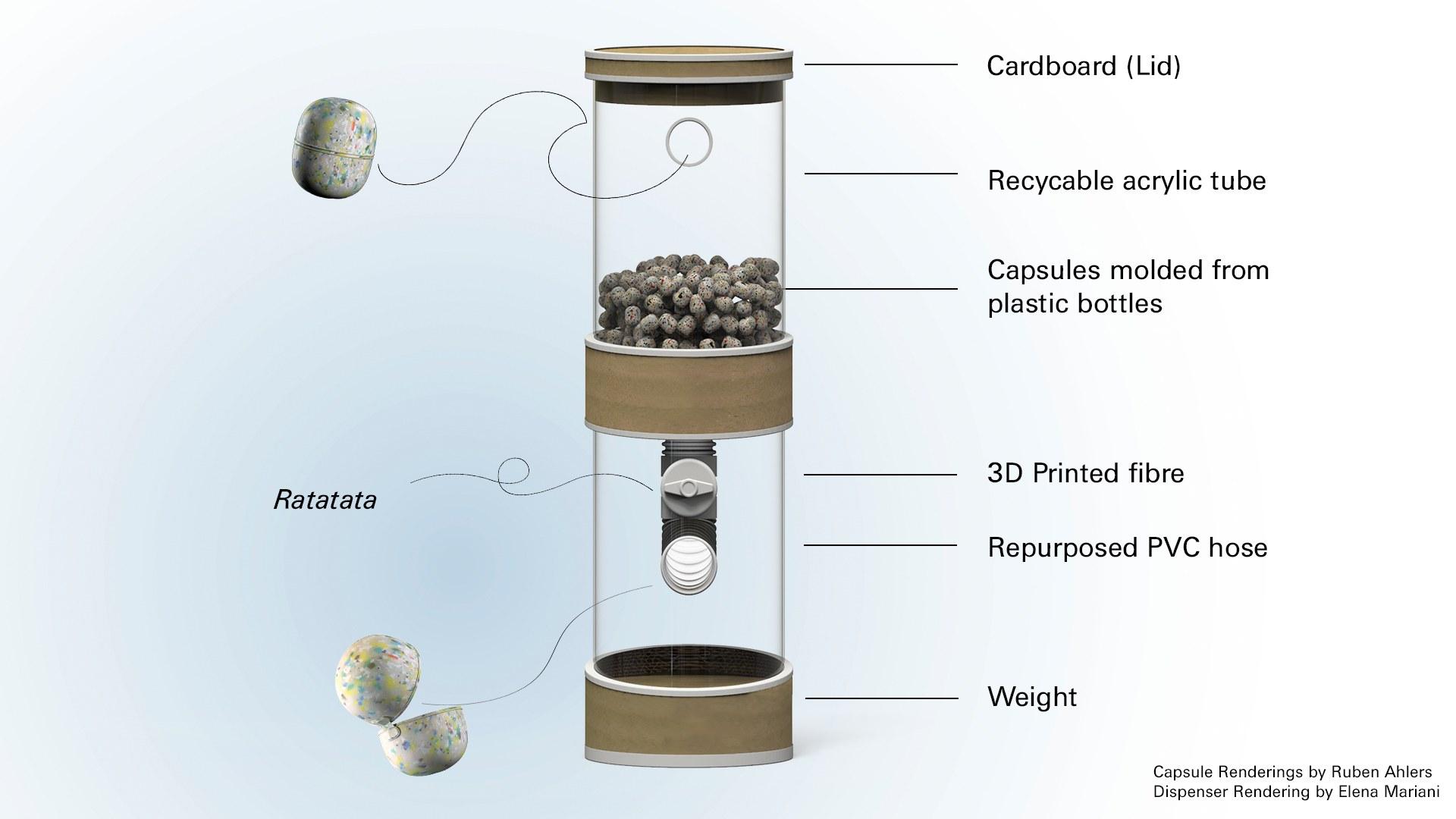The Capsule Dispenser