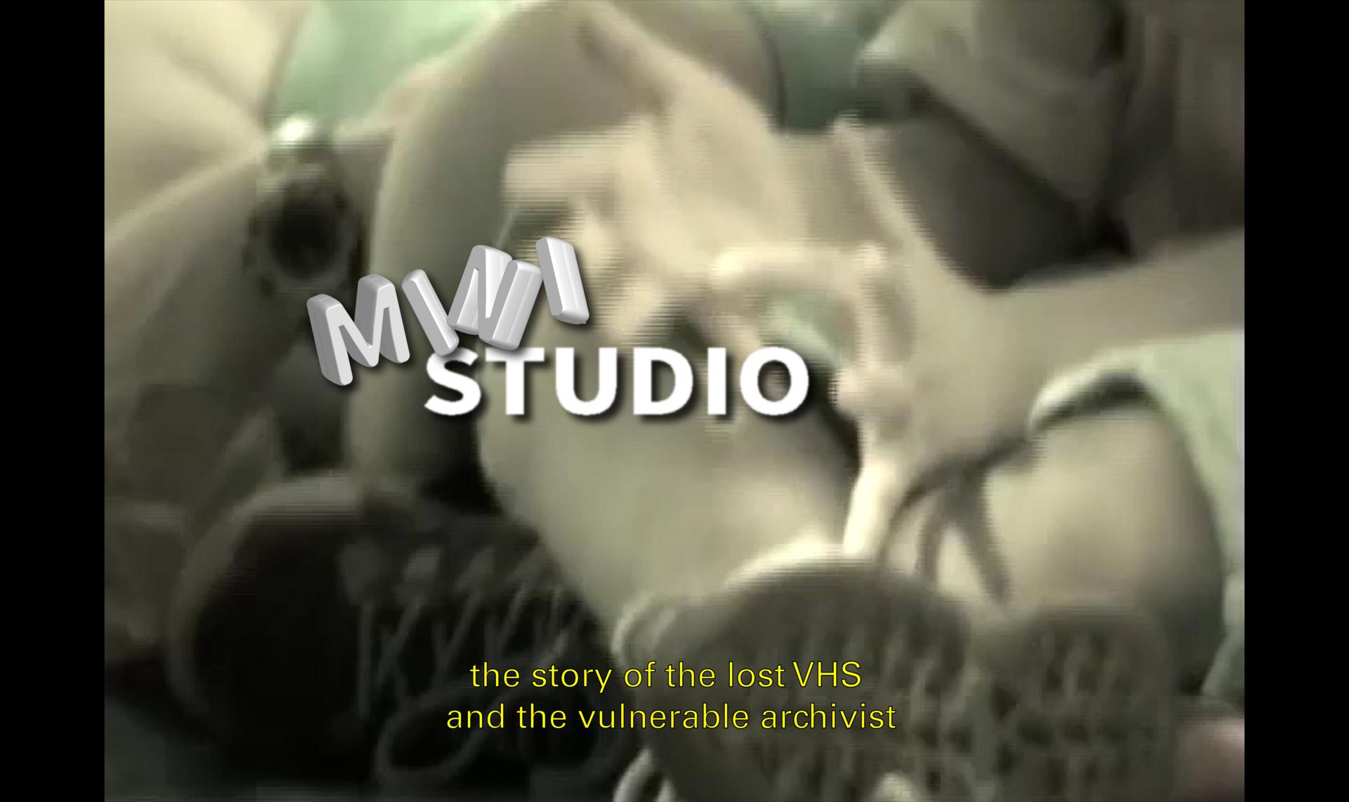 MINI STUDIO, experimental documentary - poster