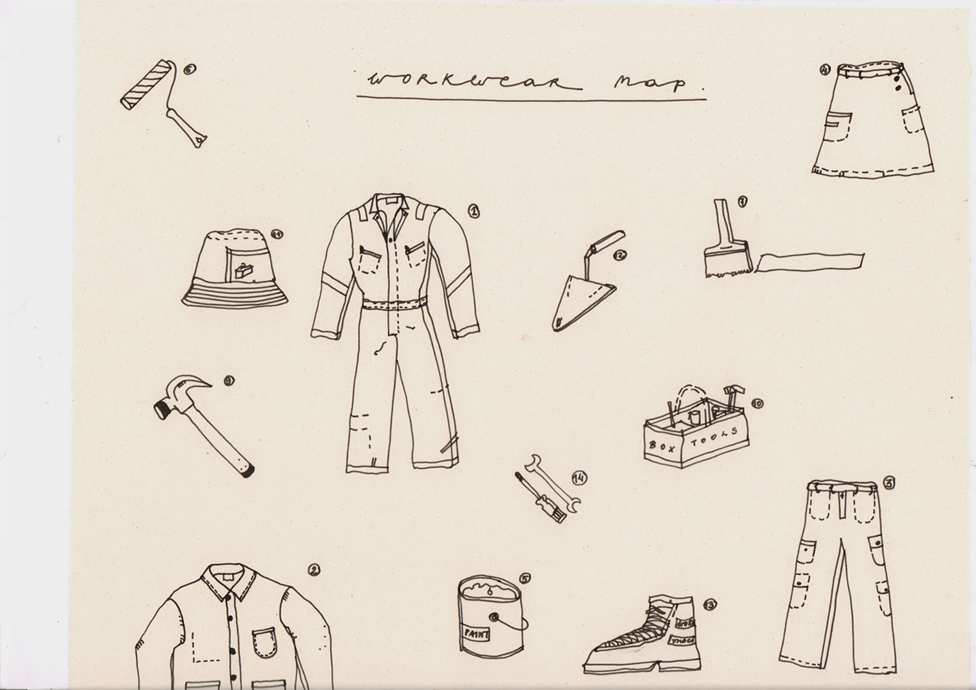 Workwear Map