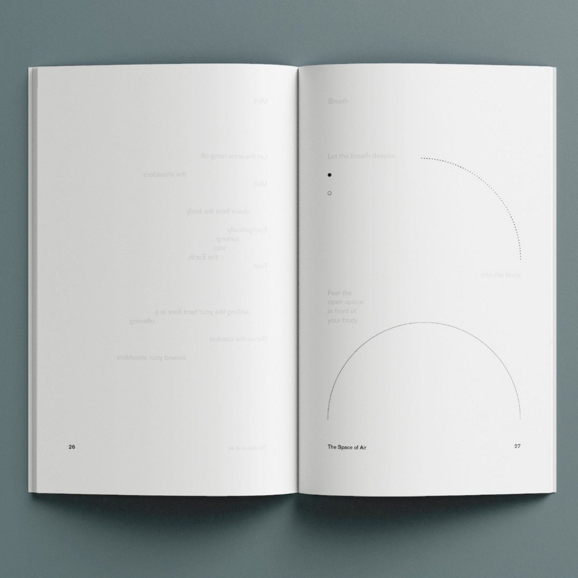 The Space of Air, Collection of Guided Poems and Recipes for Embodied ways of Sensing the Air (2021)