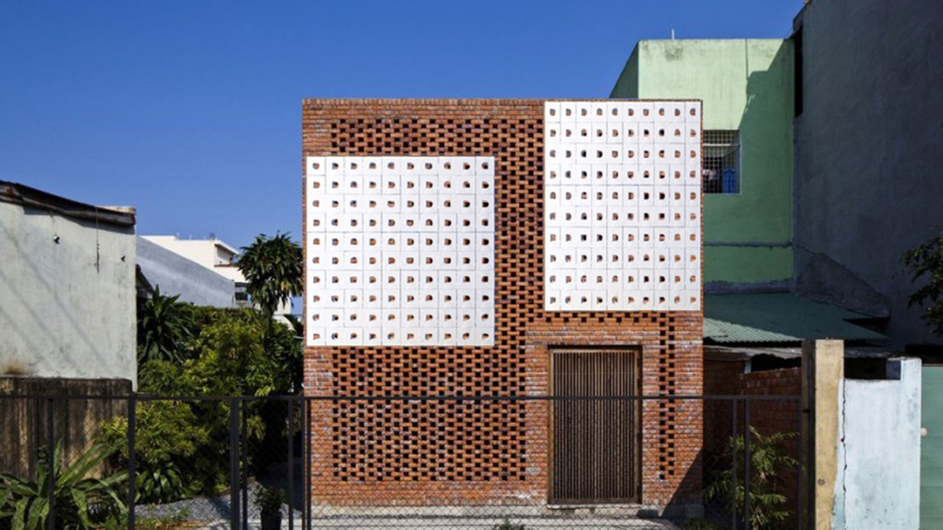 Antonym Passive Cooling Tiles on Building Facade