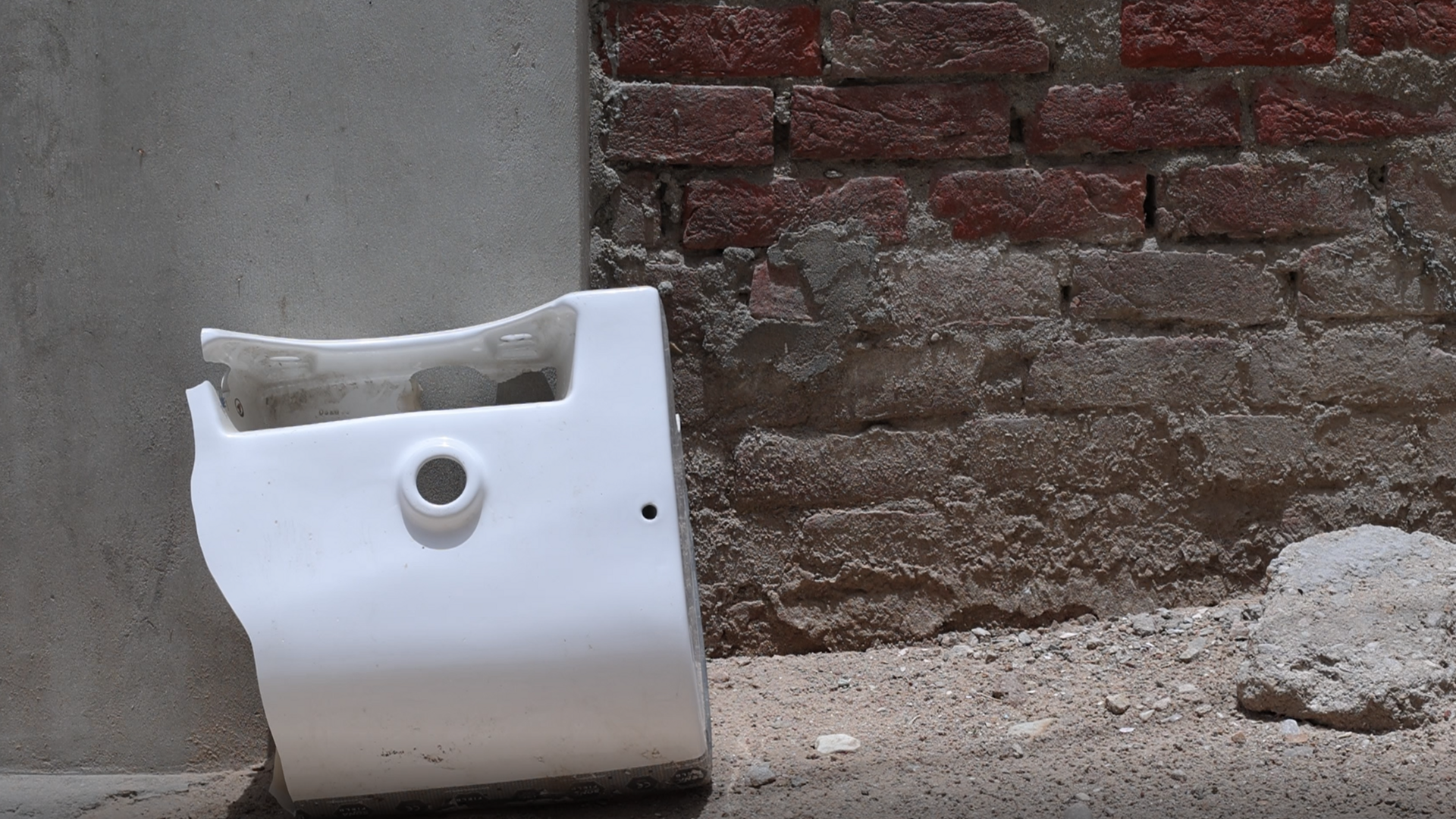 Rejected Sanitary Ware