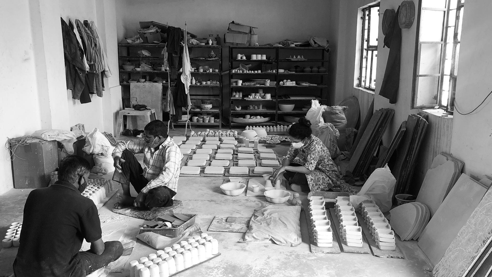 Neerja Blue Pottery Workshop