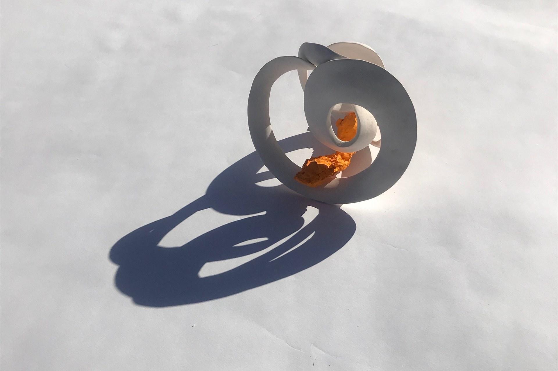 'Rotation 1' with Orange