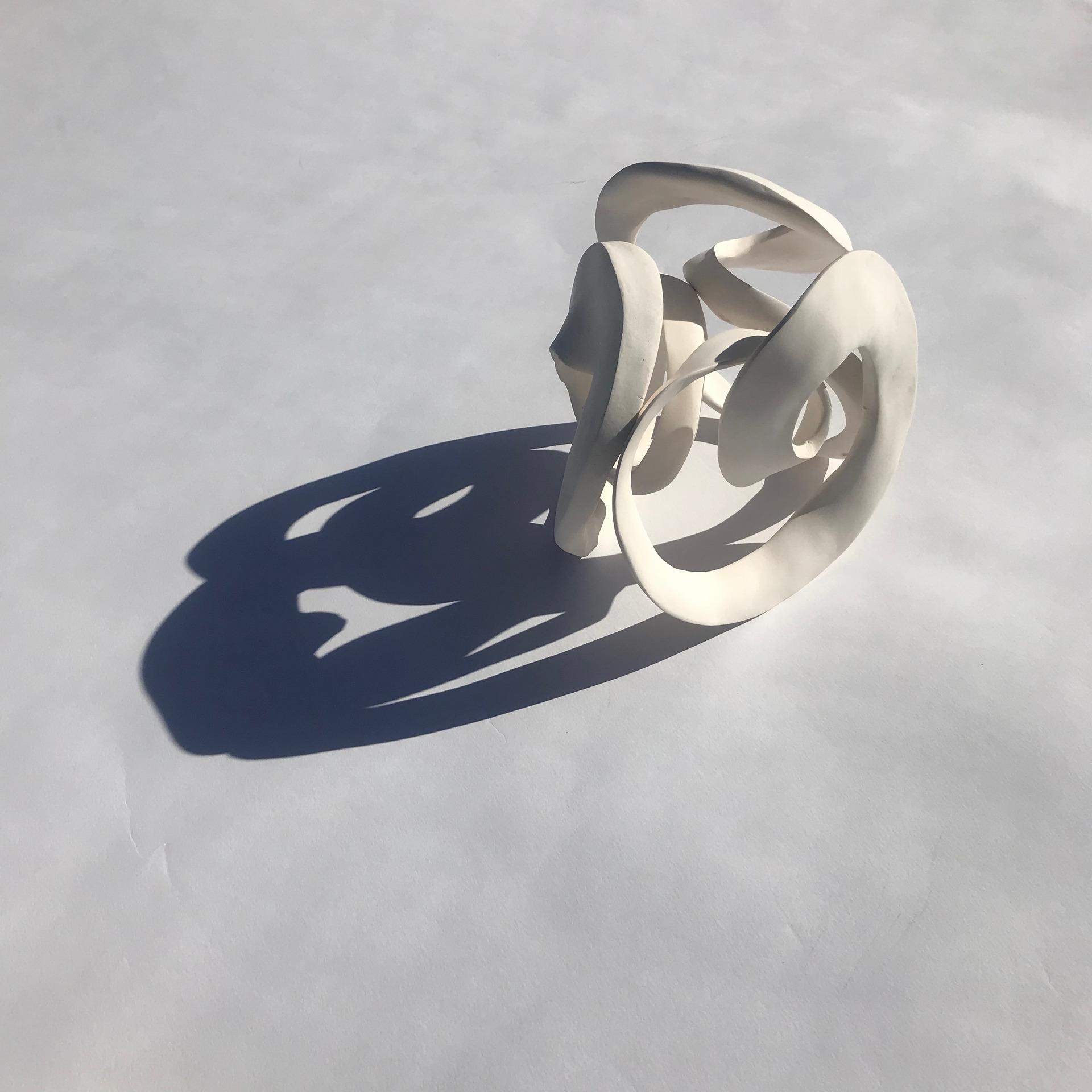 'Rotation 1'  porcelain 24cm3
