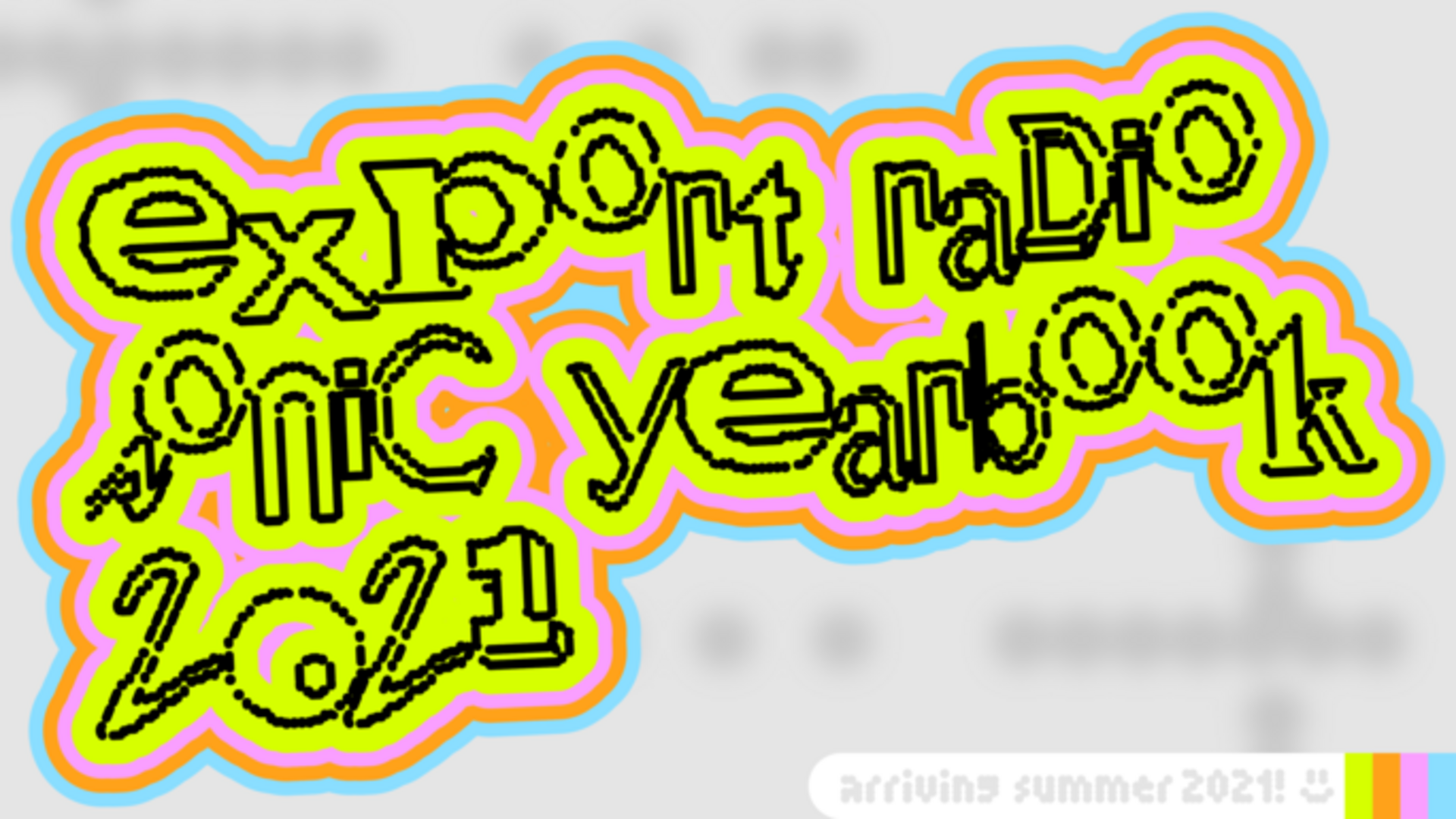 Sonic Yearbook Banner