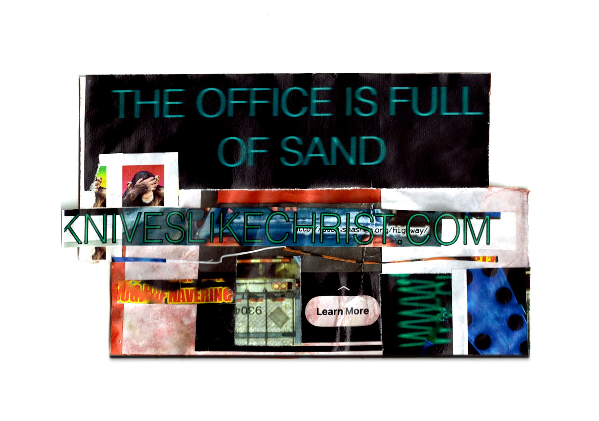 The Office Is Full Of Sand