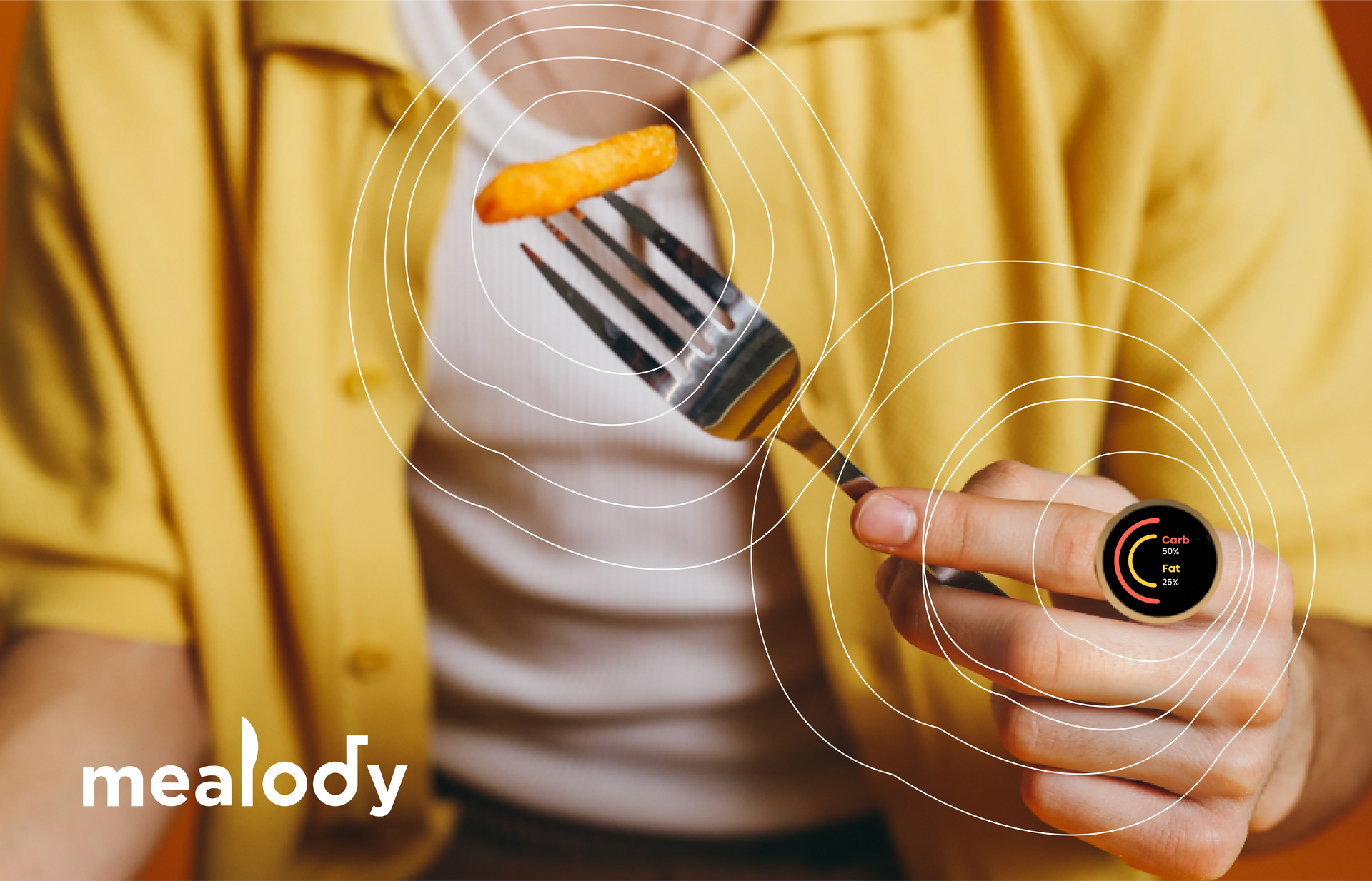 Sensing ring can detect nutritional elements from your food