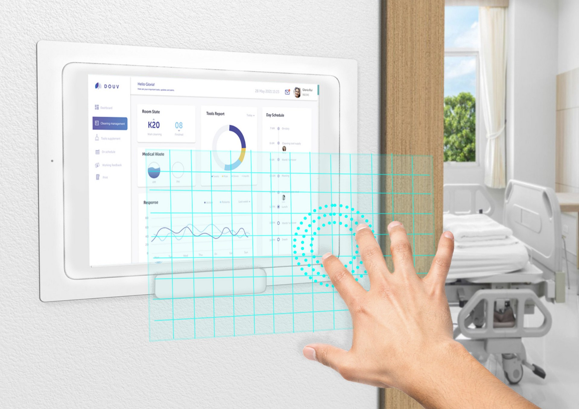 Touchless interaction