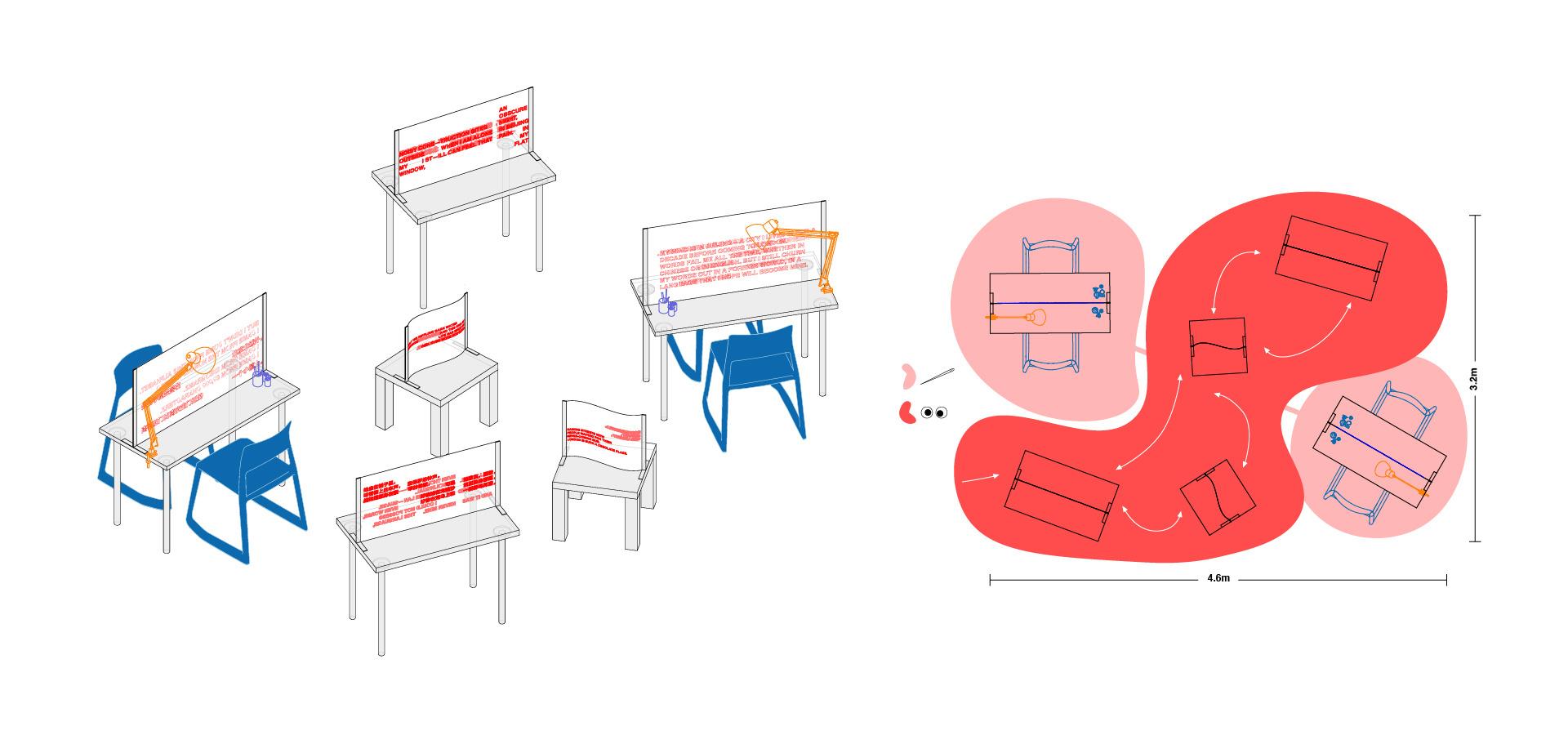 floorplan + visual sketch