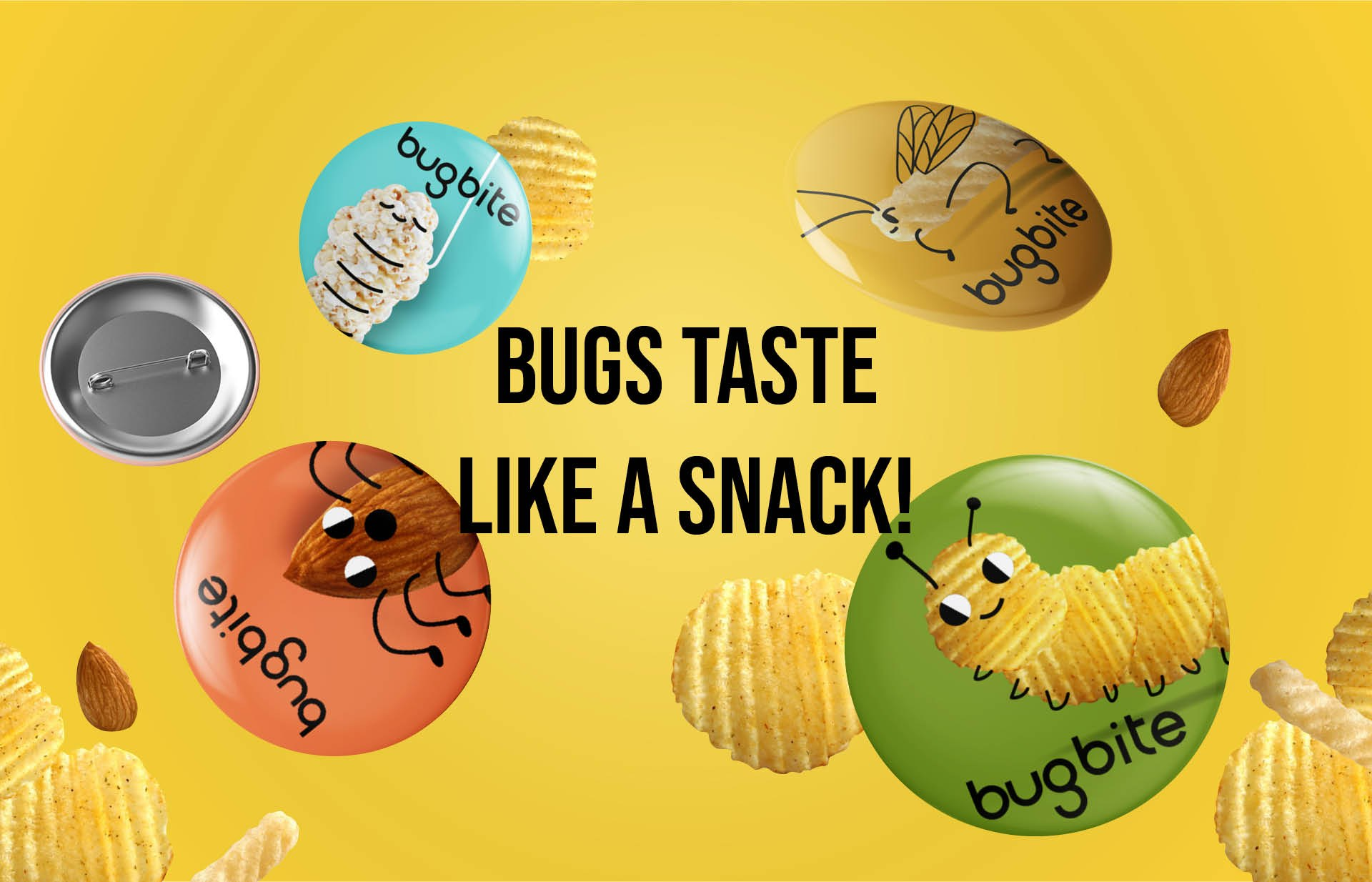 Bugbite - Exploring to overcome our preconception of eating bugs