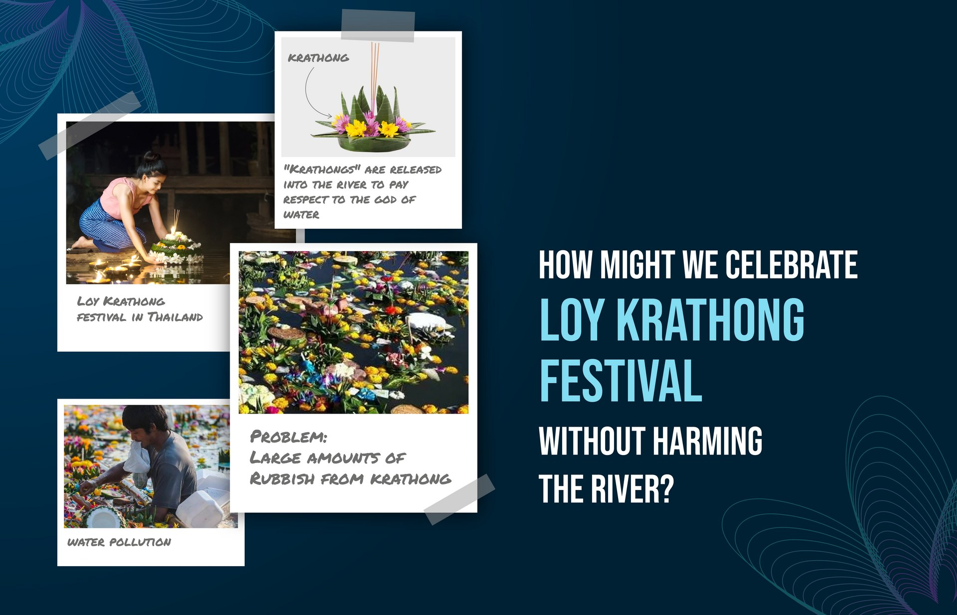 What's Loy Krathong Festival? — Inspired by the tradition, this leads a problem statement
