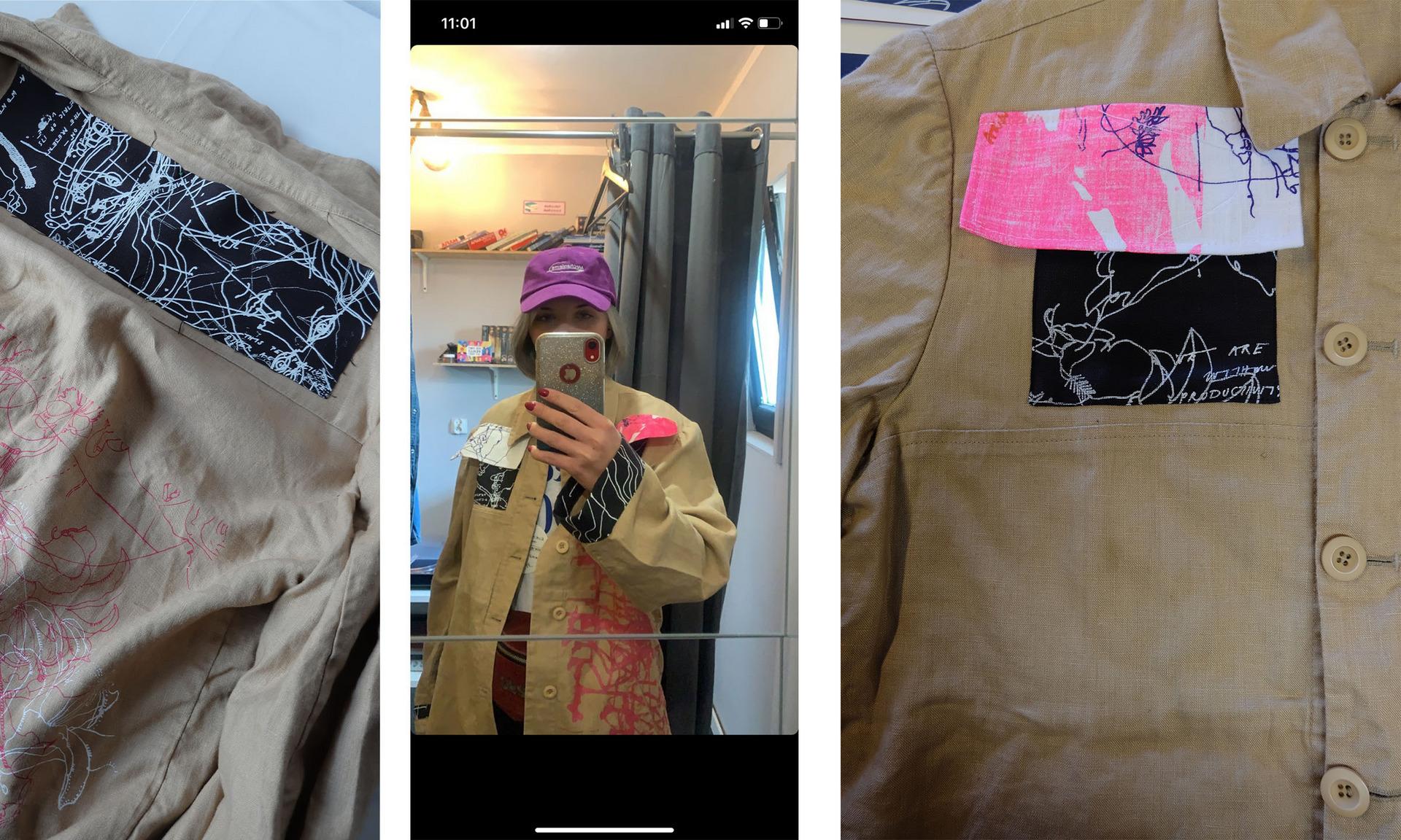 Upcycled Jacket - Agata